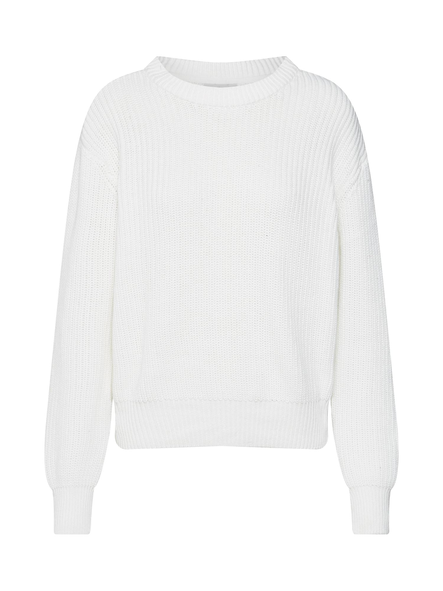 minimum Sveter 'Mikala'  krémová / biela