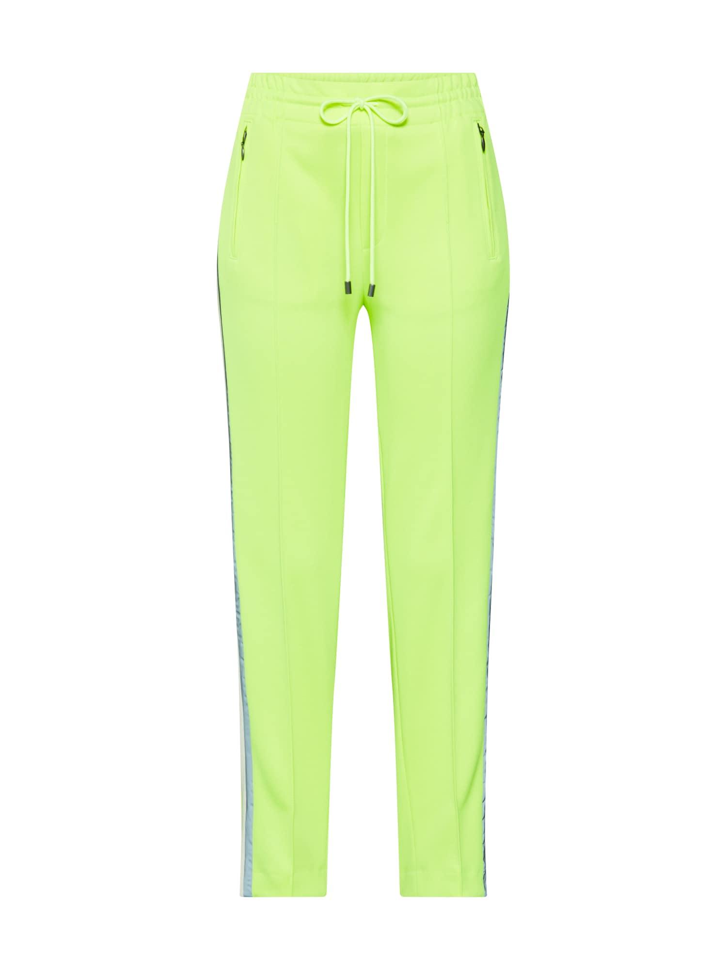 DRYKORN Kelnės su kantu 'BLANKET' neoninė geltona