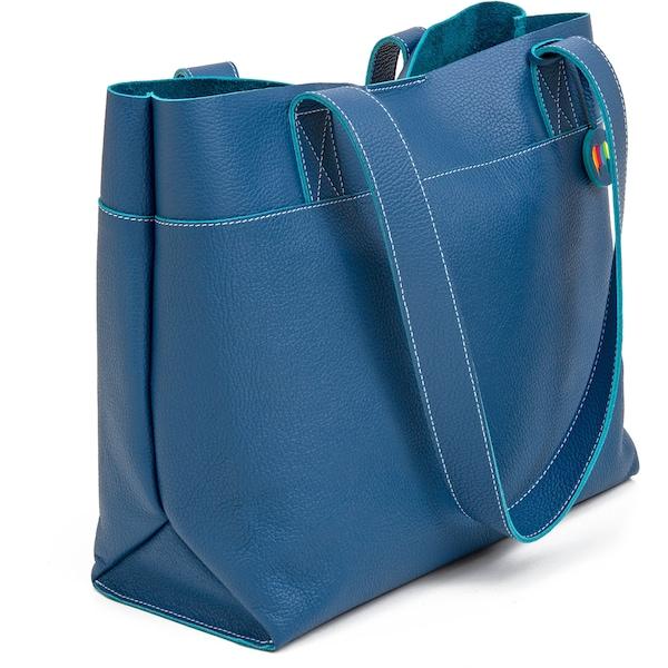 Shopper für Frauen - Mywalit Shopper 'Vancouver' kobaltblau  - Onlineshop ABOUT YOU