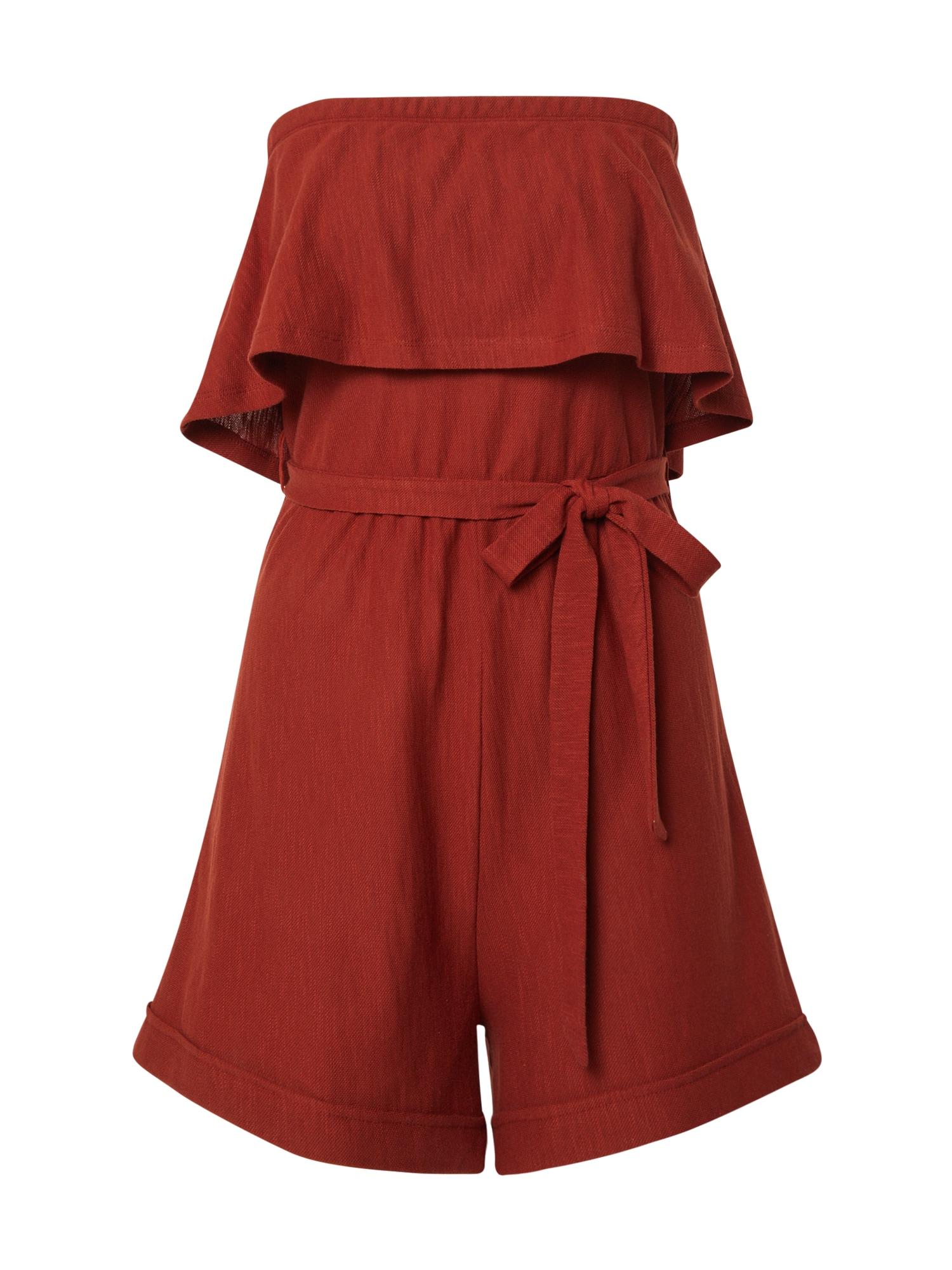 ABOUT YOU Kombinezono tipo kostiumas 'Levke' rūdžių raudona