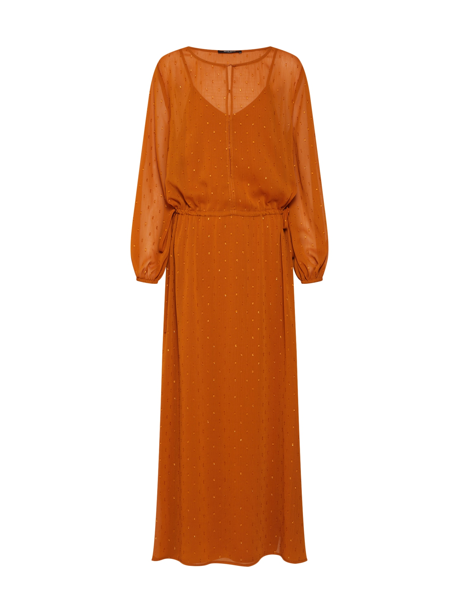 Šaty Mariah Gloria oranžová BRUUNS BAZAAR