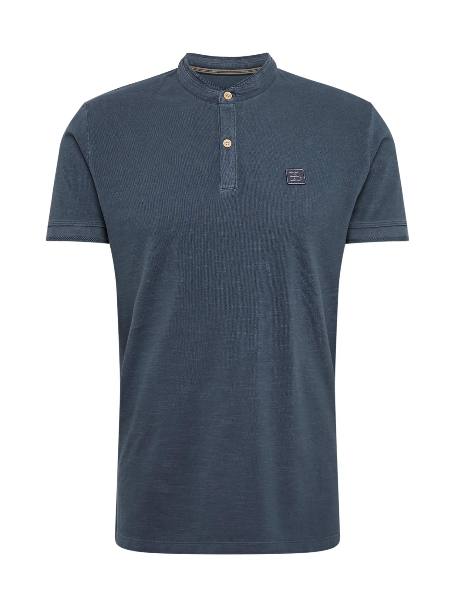 ESPRIT Marškinėliai 'OCS ARCH dye po' tamsiai mėlyna