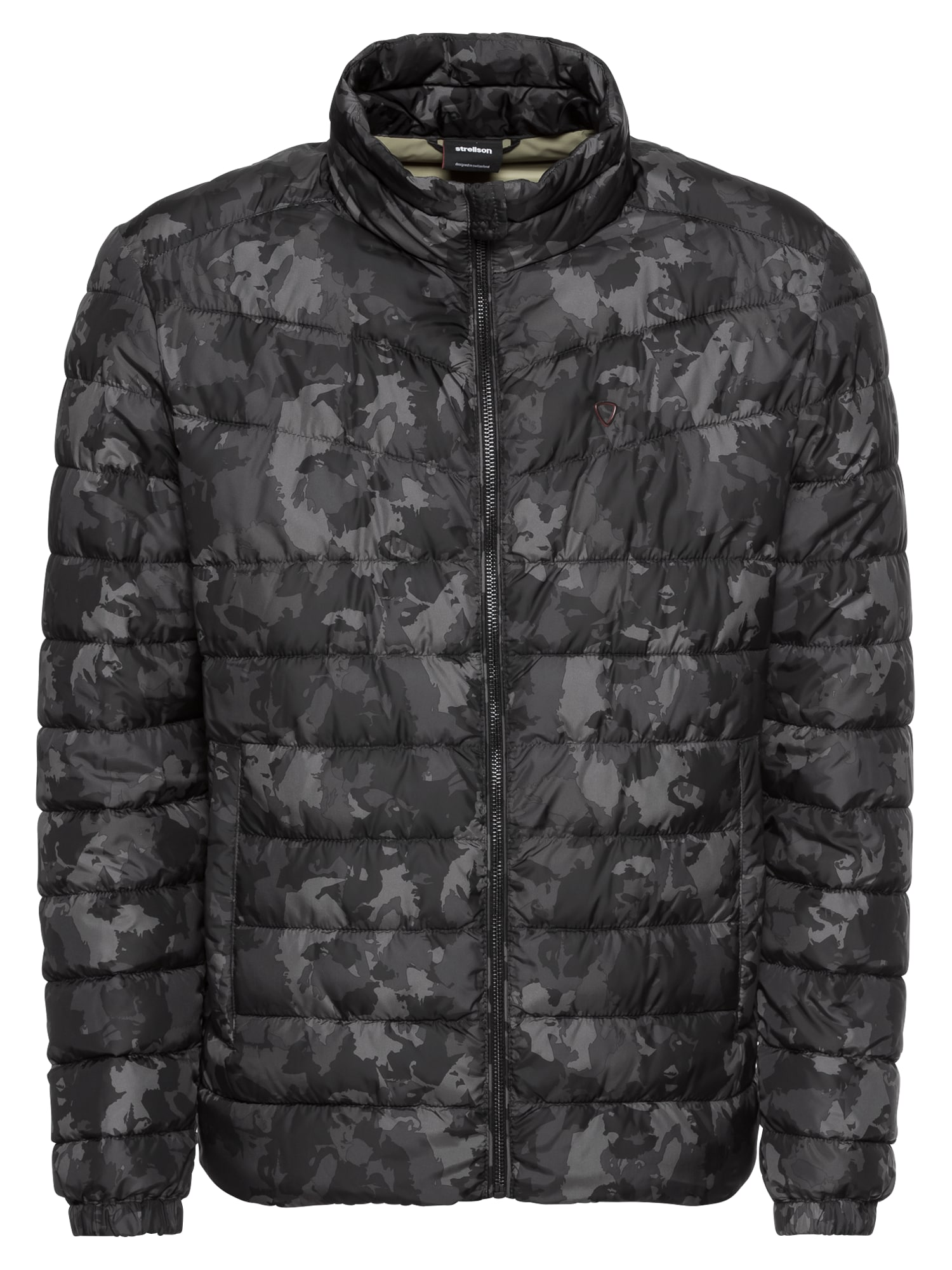 Zimní bunda 11 4SeasonJKT 10005830 šedá grafitová černá STRELLSON