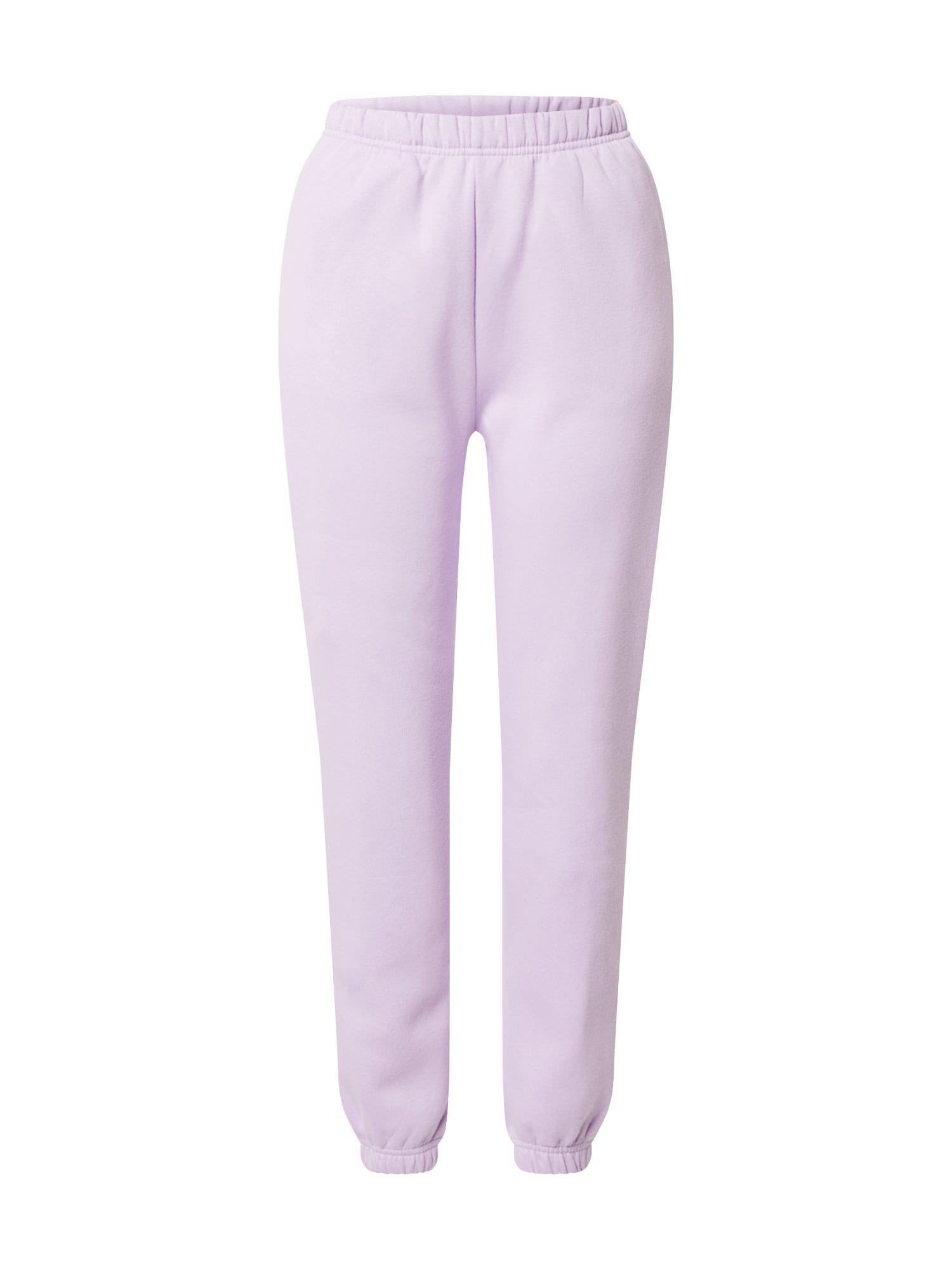Gina Tricot Kelnės levandų spalva