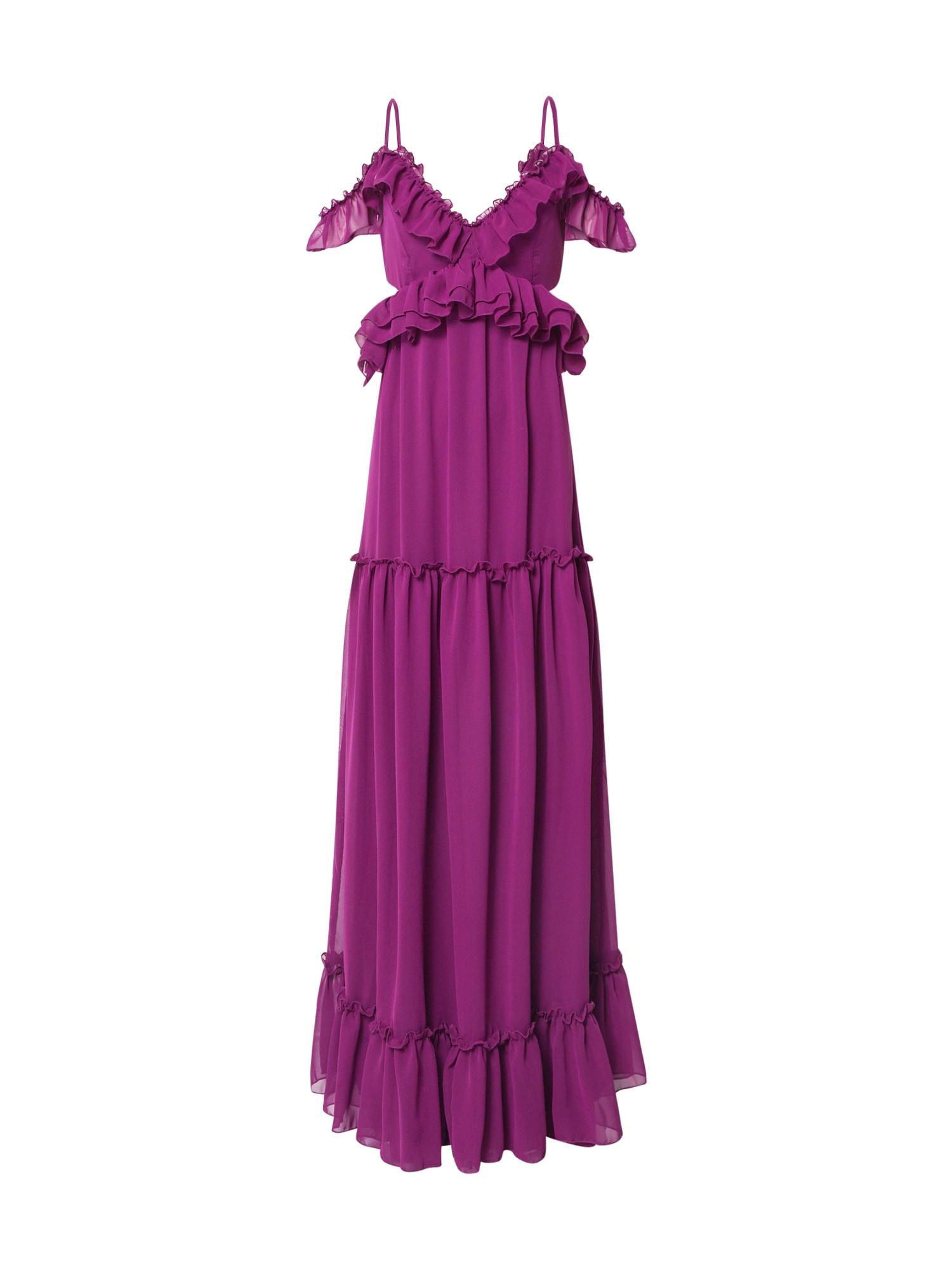 Trendyol Společenské šaty  fialová