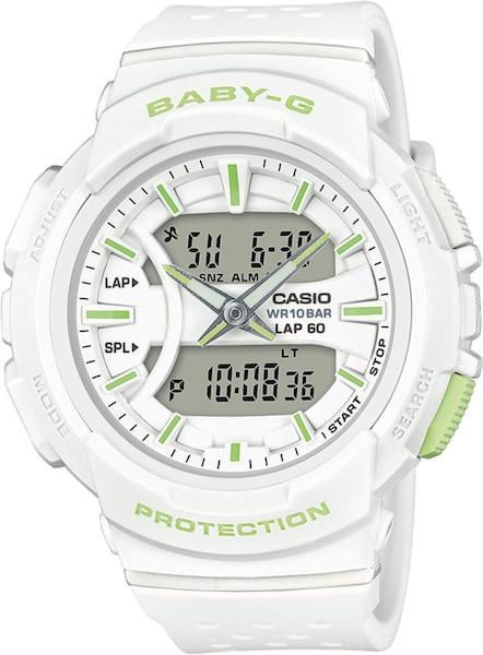 Uhren für Frauen - CASIO Uhr 'BGA 240 7A2ER' apfel weiß  - Onlineshop ABOUT YOU