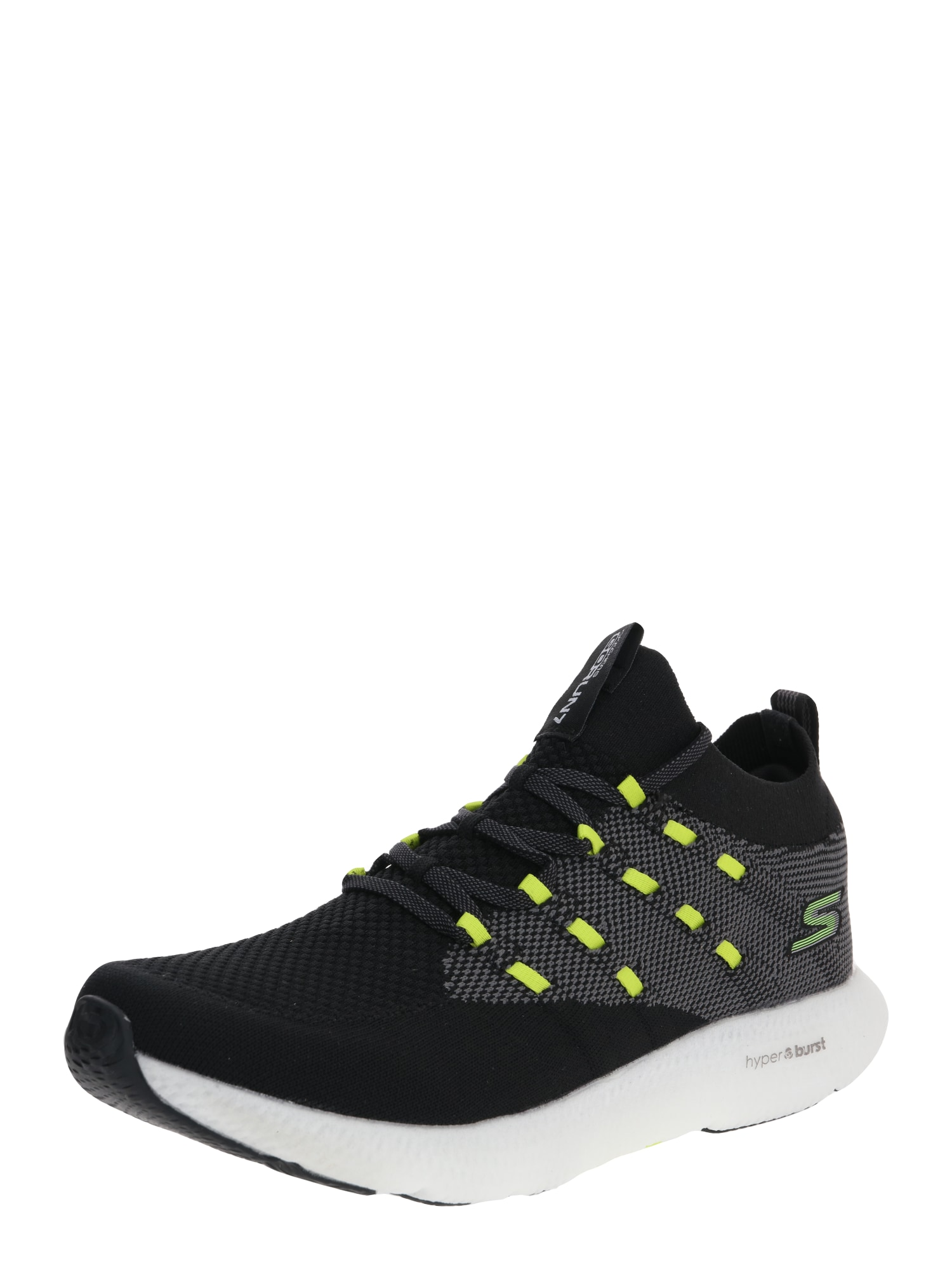 Skechers Performance Nízke tenisky 'GO RUN 7'  žlté / čierna