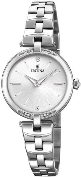 Uhren für Frauen - FESTINA Quarzuhr 'Mademoiselle, F20307 1' silber  - Onlineshop ABOUT YOU
