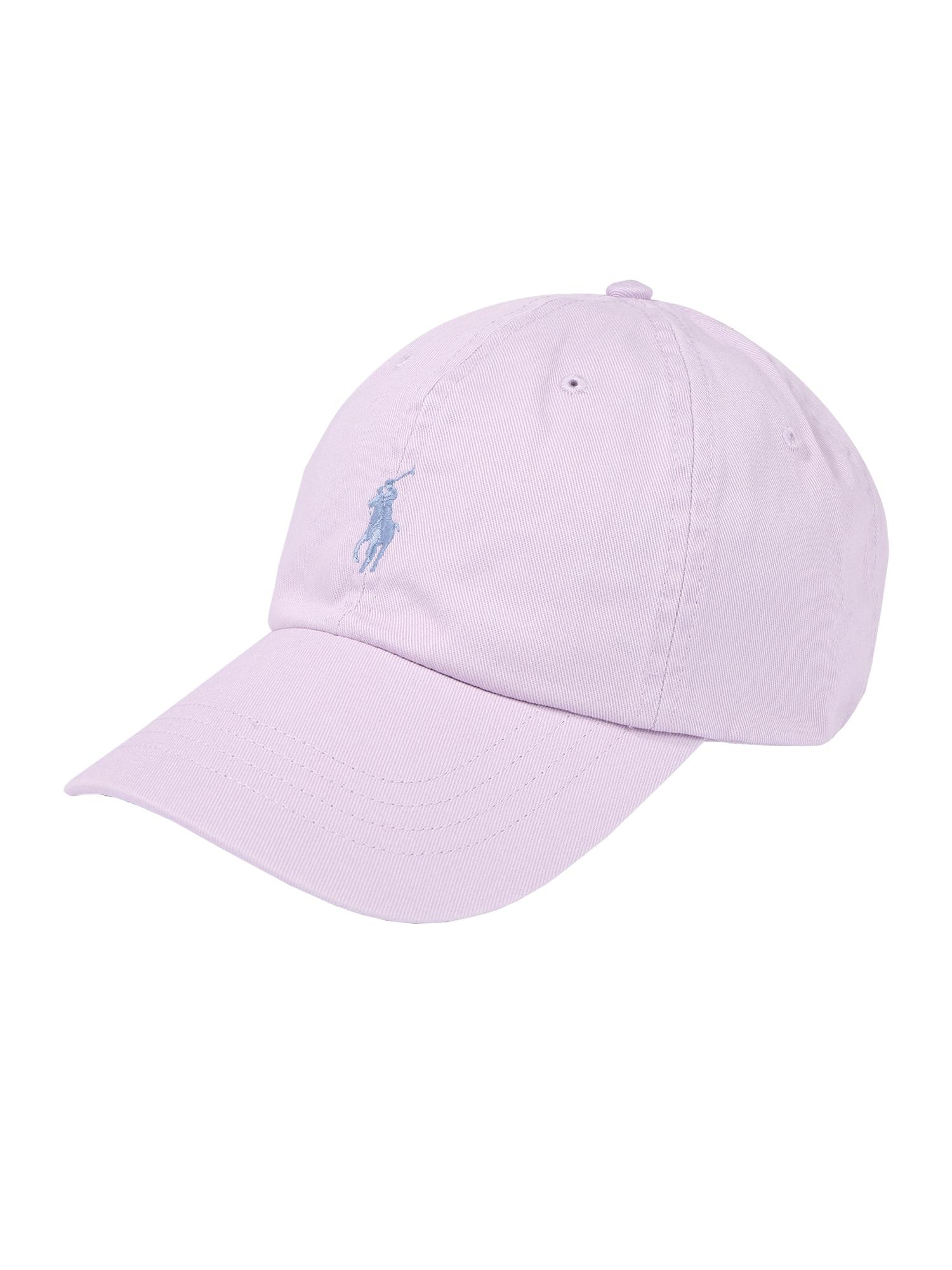 POLO RALPH LAUREN Kepurė šviesiai mėlyna / rožių spalva
