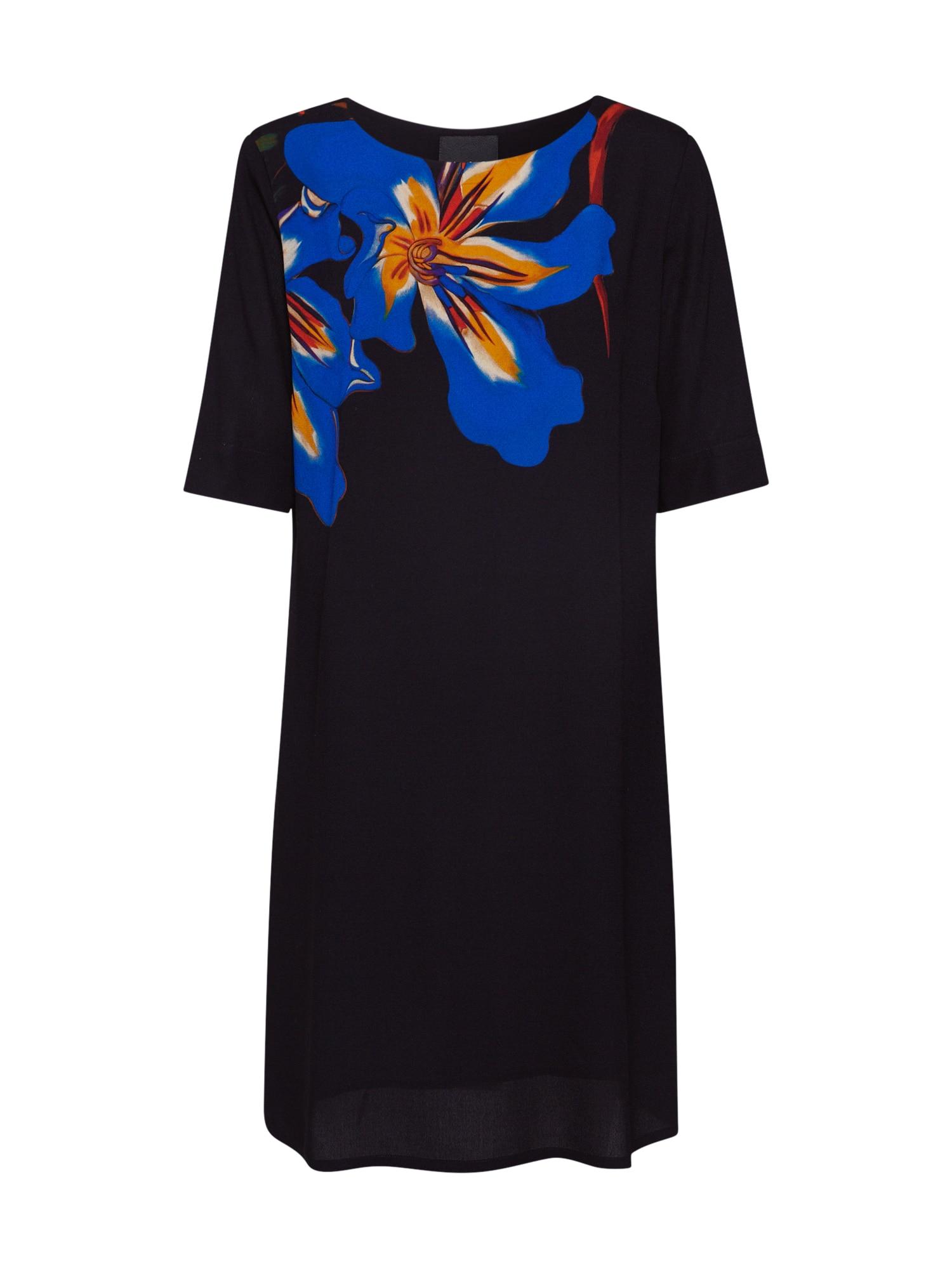Desigual Vasarinė suknelė 'VEST PISTILO' oranžinė / juoda / mėlyna