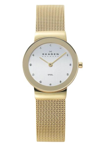 Uhren für Frauen - SKAGEN Uhr 'FREJA, 358SGGD' gold silber  - Onlineshop ABOUT YOU