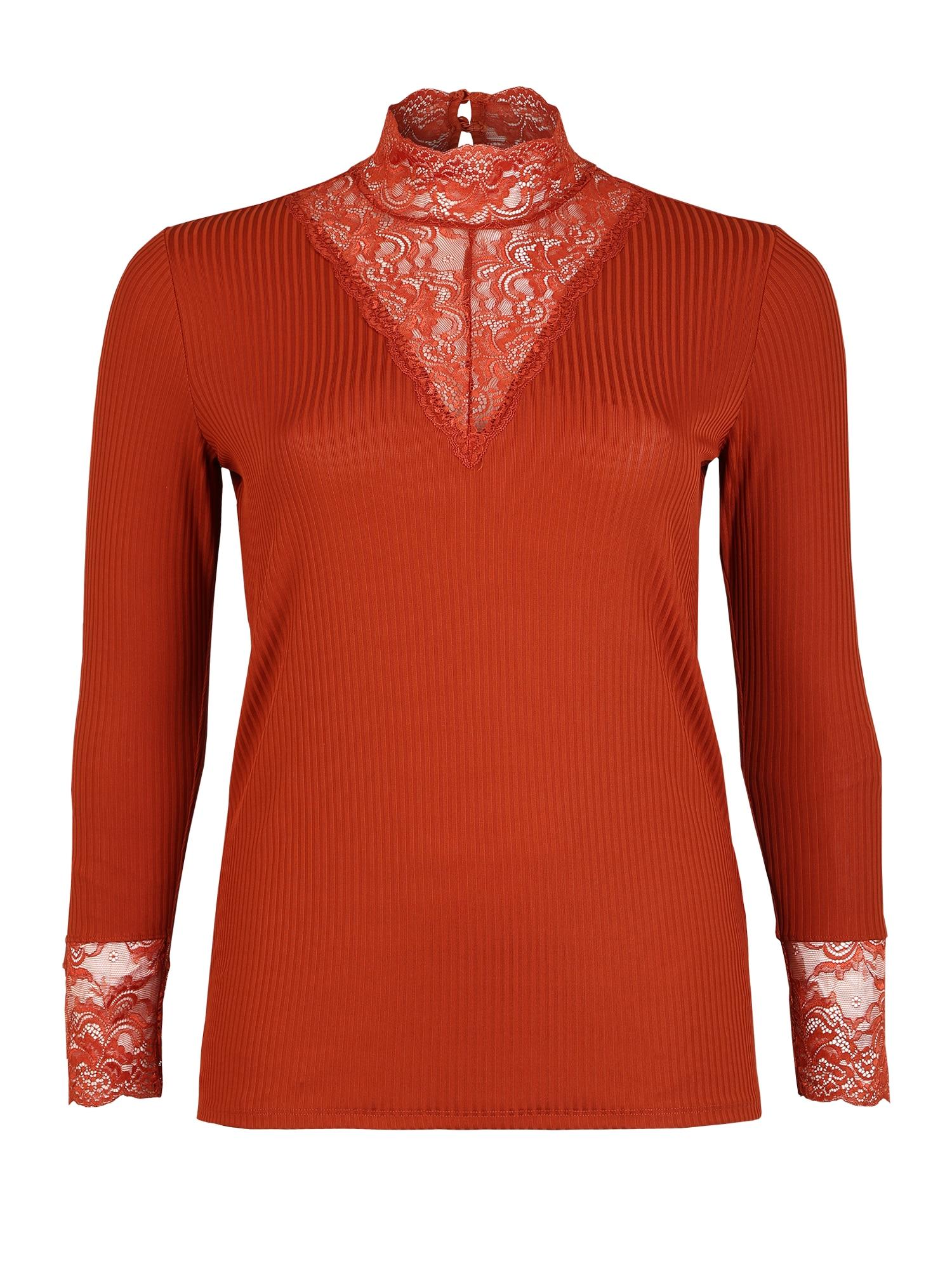 ONLY Carmakoma Marškinėliai rūdžių raudona
