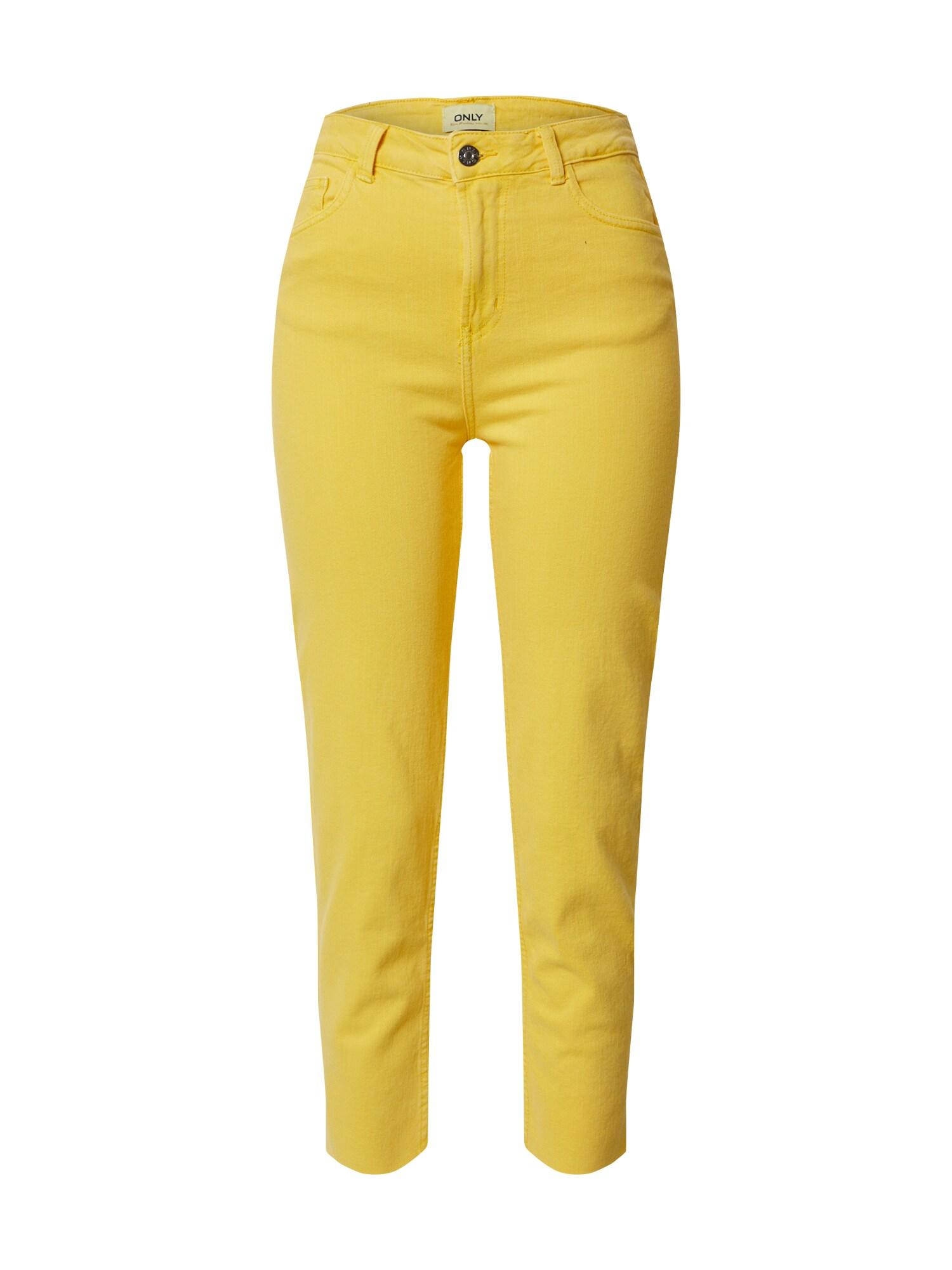 ONLY Džínsy  žlté
