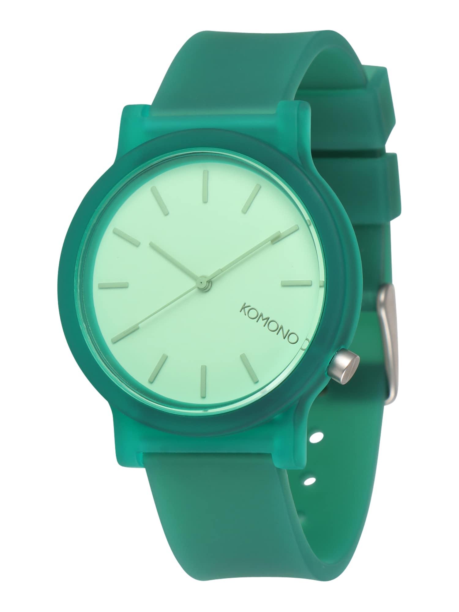 Analogové hodinky MONO zelená Komono