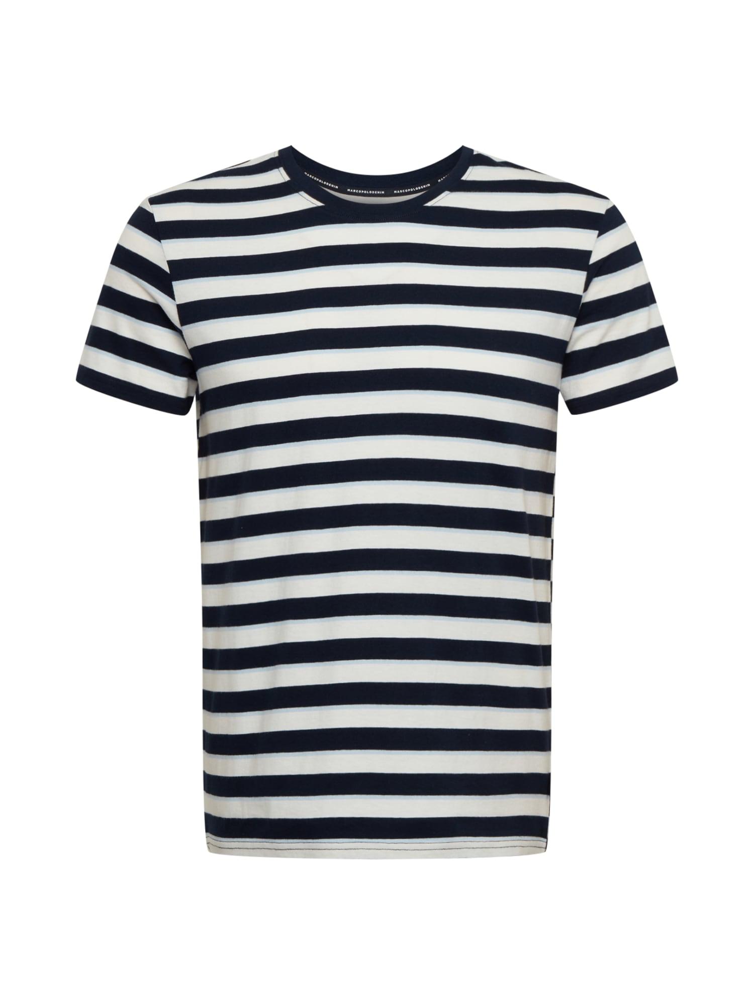 Marc O'Polo DENIM Marškinėliai mišrios spalvos / mėlyna