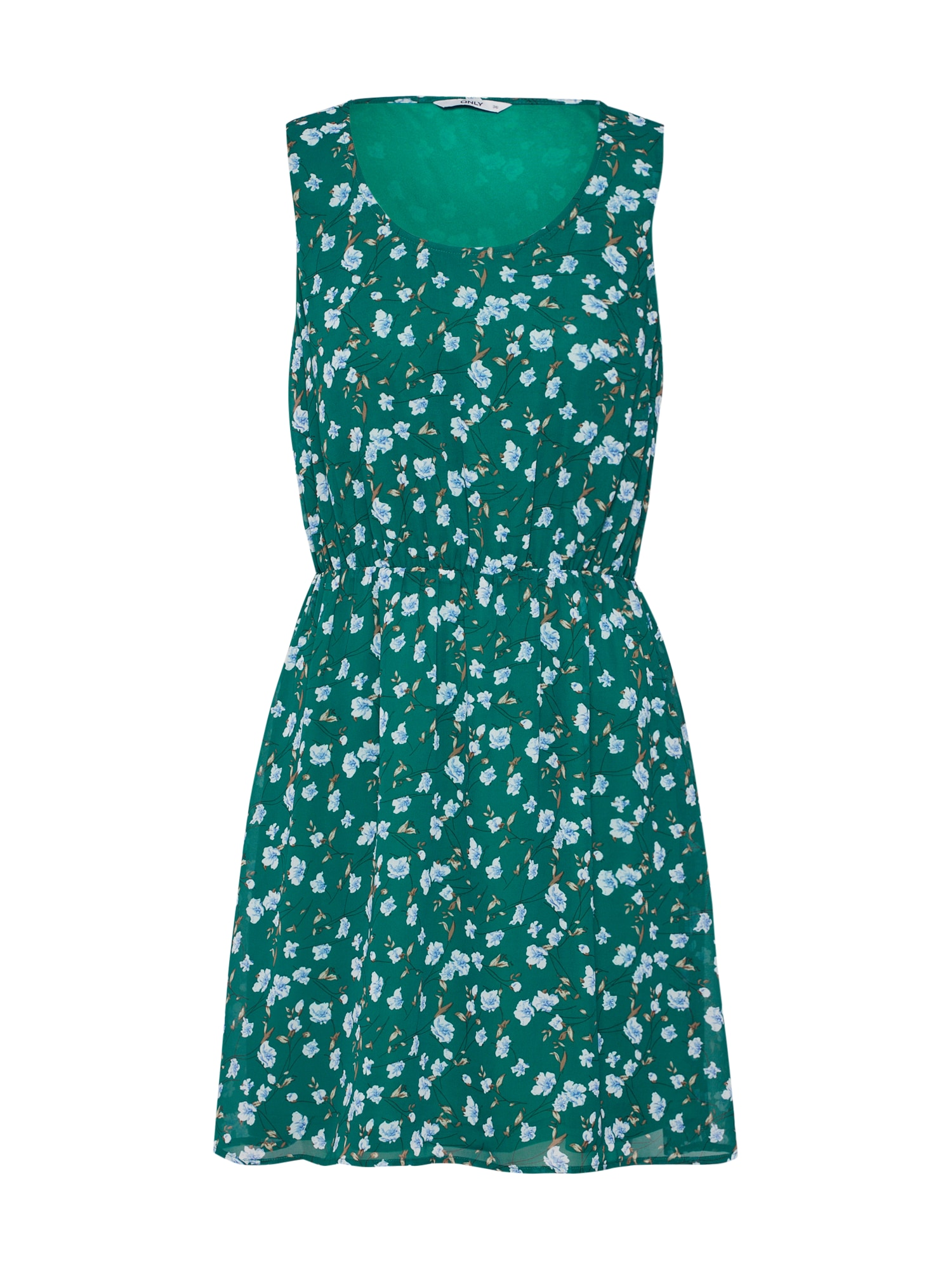 Letní šaty onlTAKE SARAH zelená ONLY