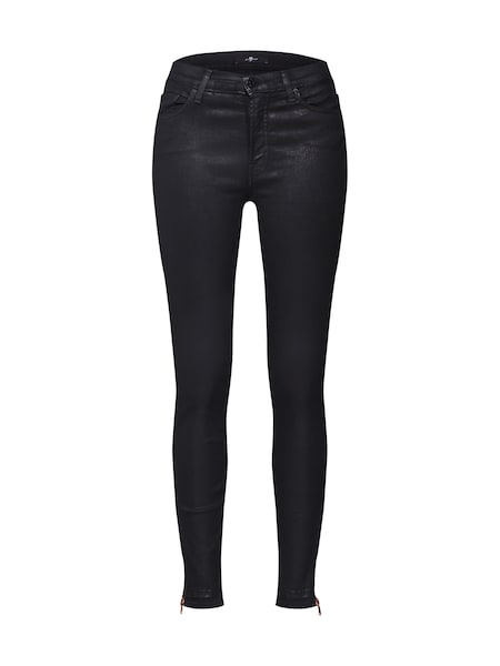 Hosen - Jeans 'HW SKINNY CROP' › 7 For All Mankind › schwarz  - Onlineshop ABOUT YOU