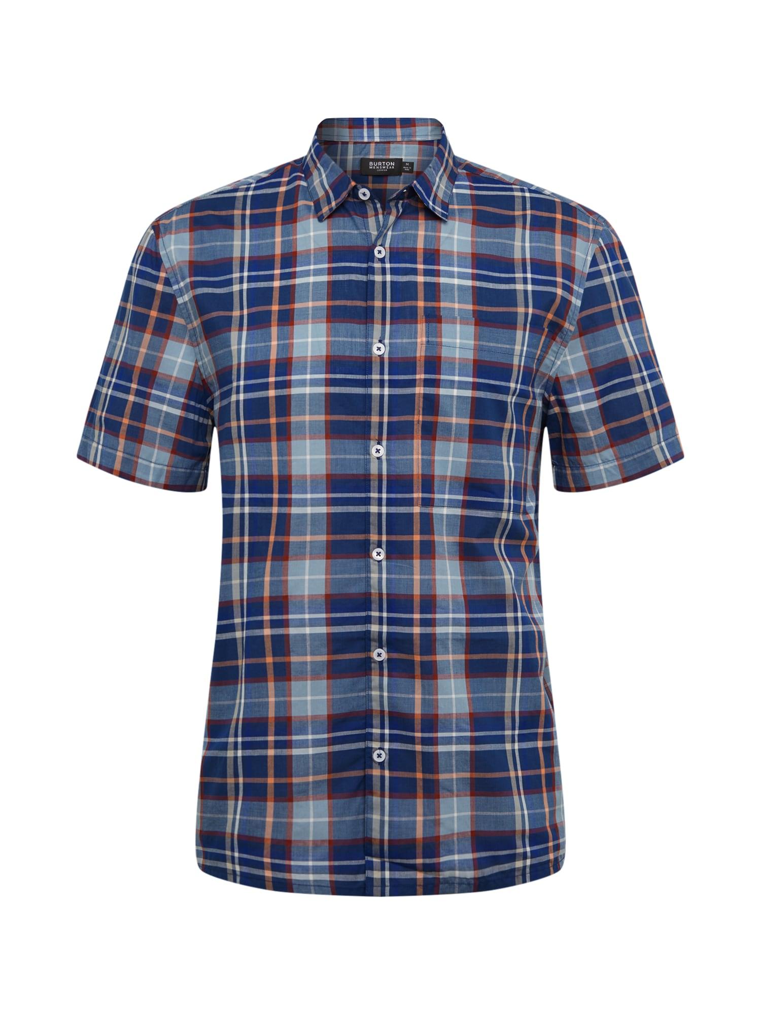 BURTON MENSWEAR LONDON Marškiniai dangaus žydra