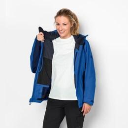 JACK WOLFSKIN Damen Skijacke EXOLIGHT BASE JACKET WOMEN blau | 04055001658060