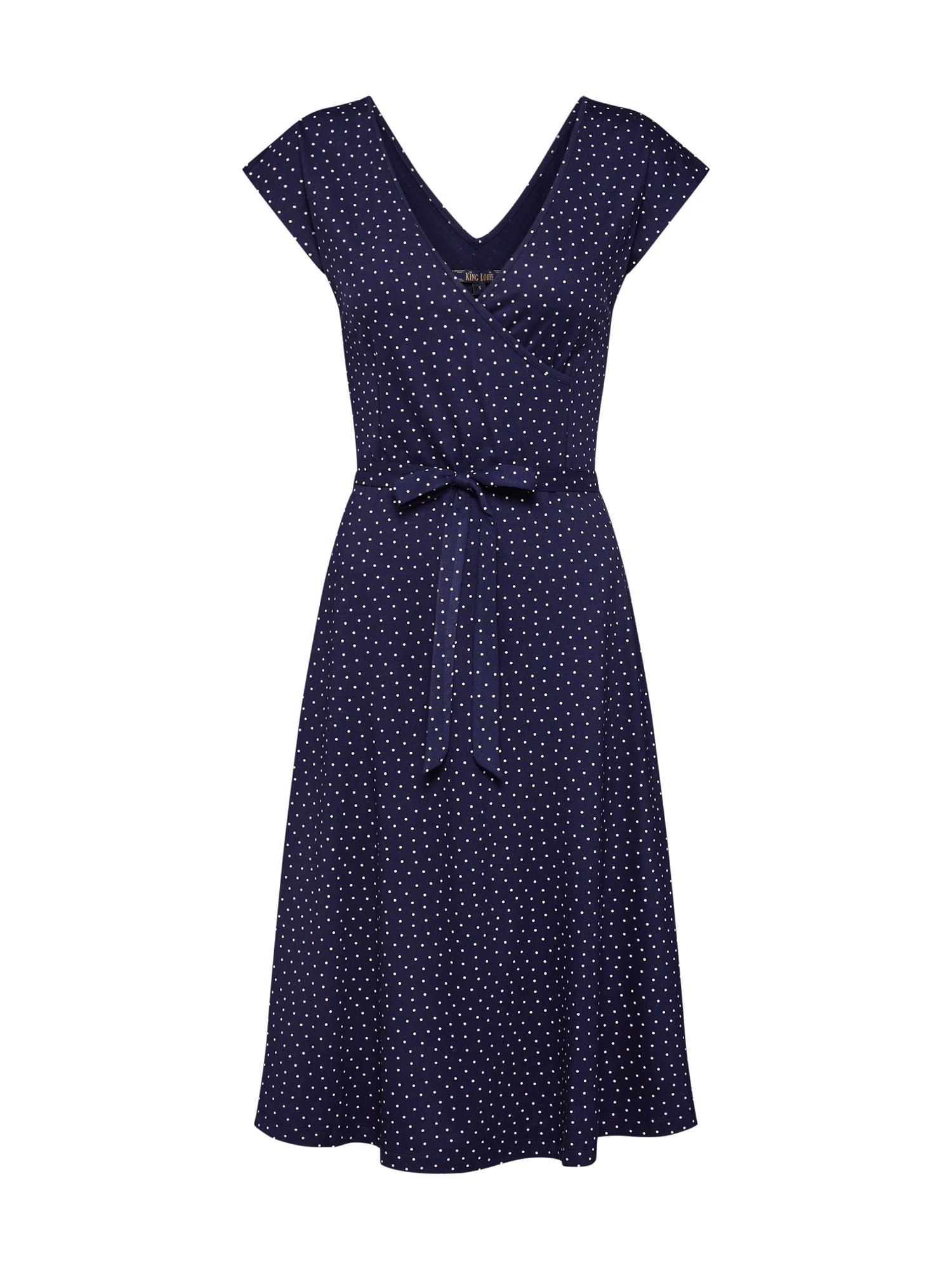 Šaty Mira Dress Little Dots tmavě modrá King Louie