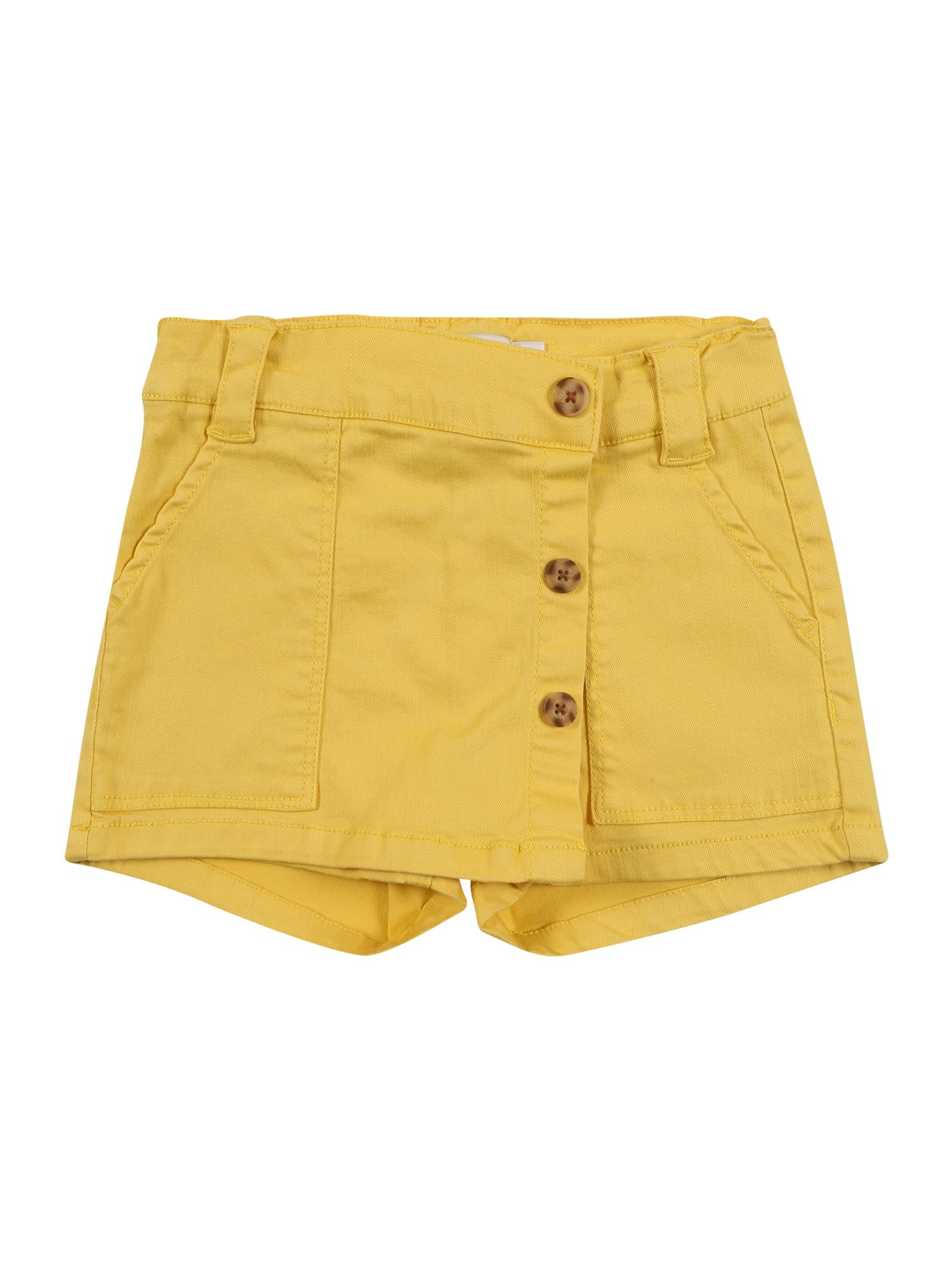 NAME IT Kelnės 'NMFADELLE ' geltona
