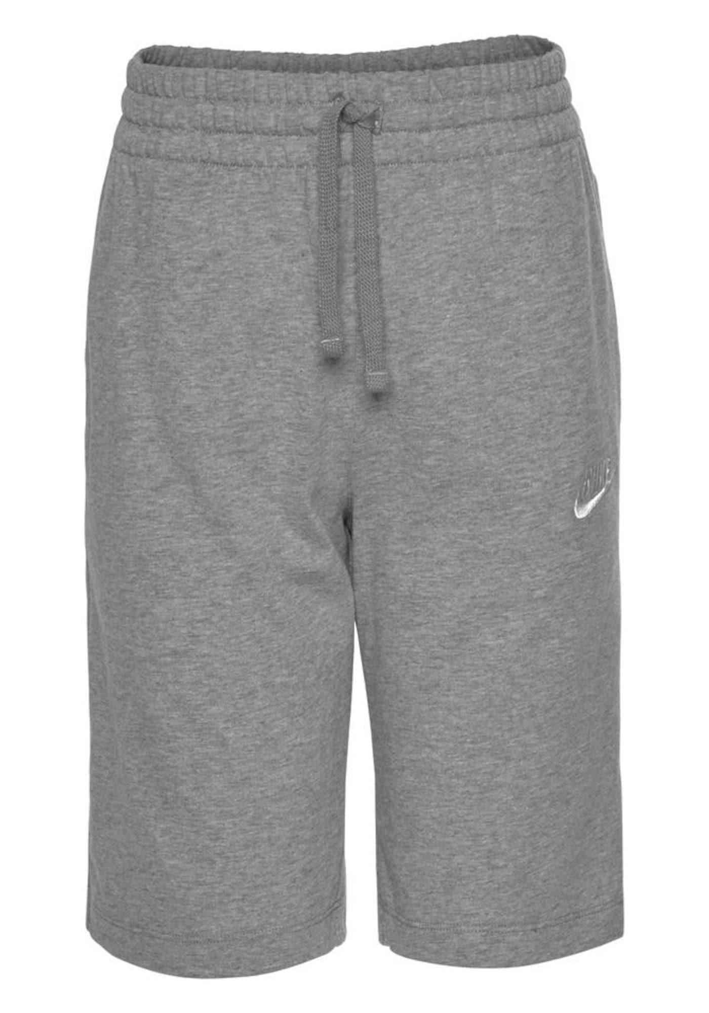 Nike Sportswear Kelnės margai pilka / balta