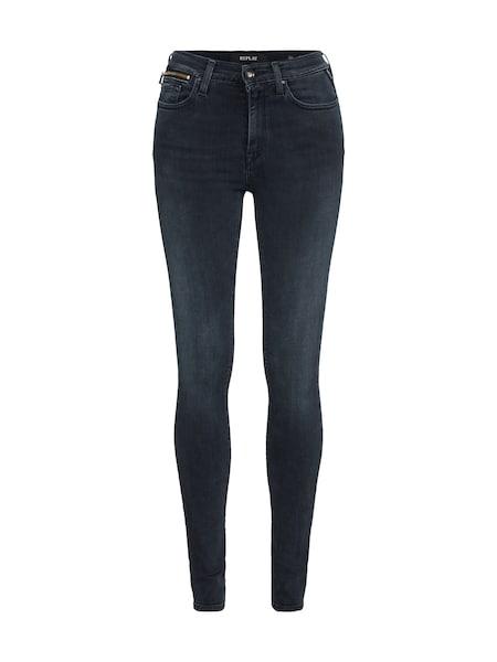 Hosen für Frauen - Jeans 'ZACKIE' › Replay › grey denim  - Onlineshop ABOUT YOU