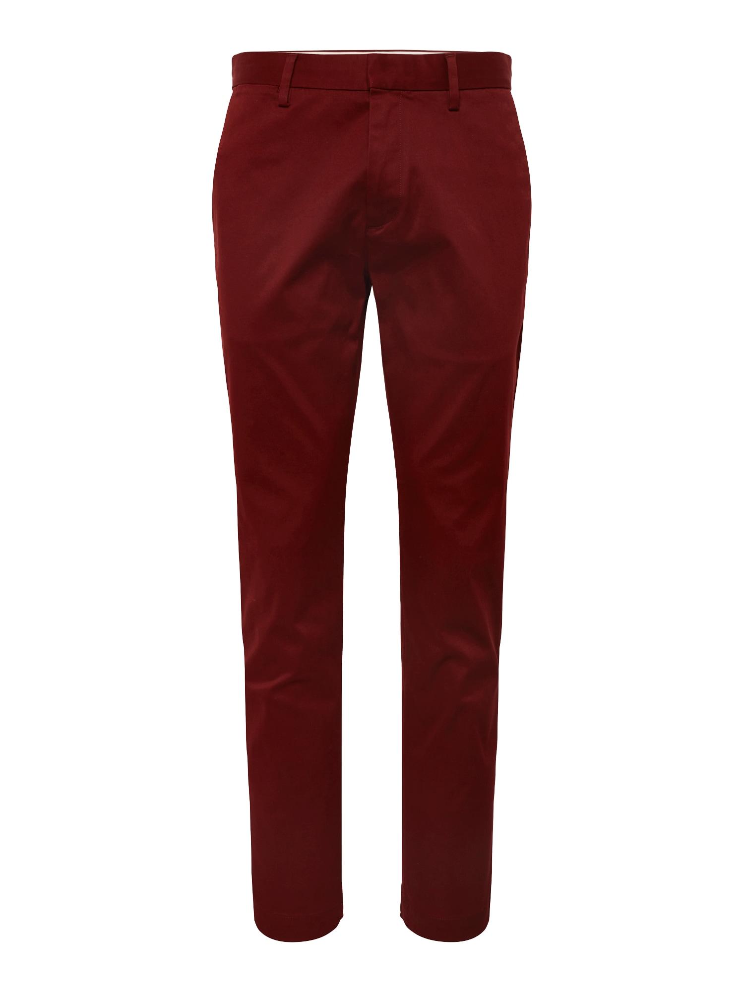 Chino kalhoty AIDEN RMC červená Banana Republic