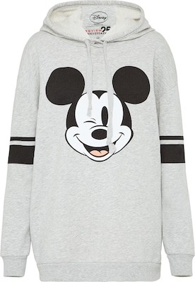 Review Hoodie mit Print 'Flirty Micky'