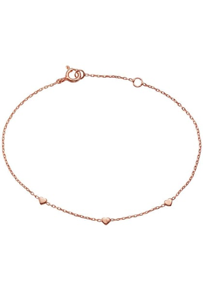 Armbaender - Armband 'Herzen' › FIRETTI › rosegold  - Onlineshop ABOUT YOU