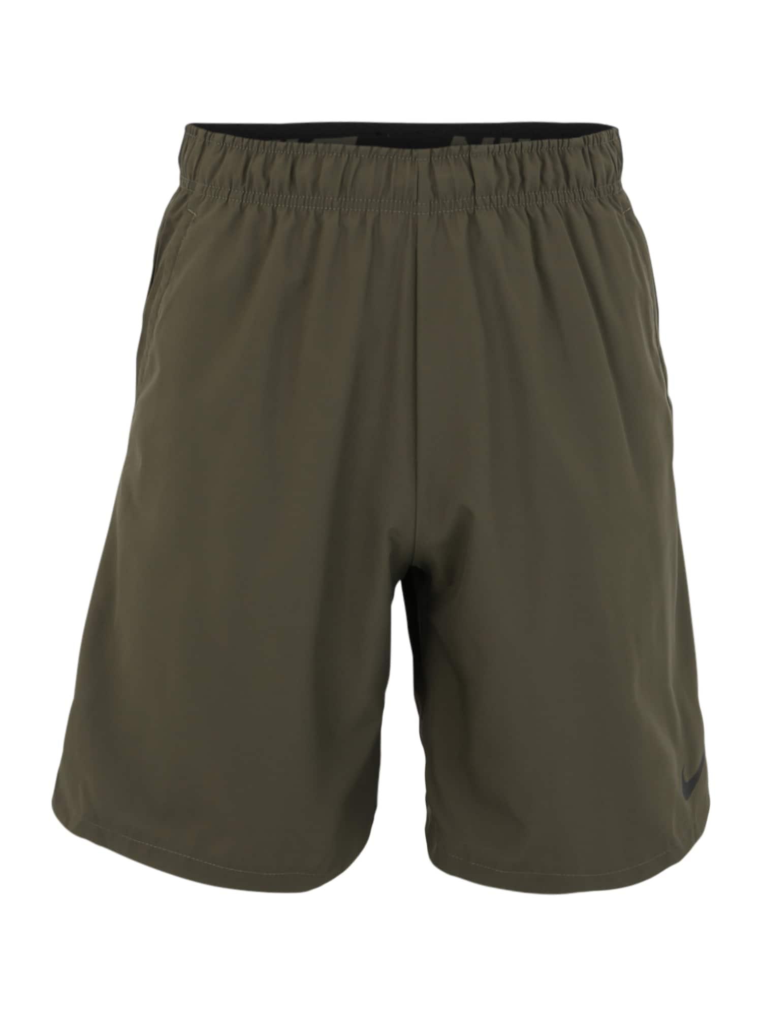 NIKE Sportovní kalhoty 'Flex'  khaki