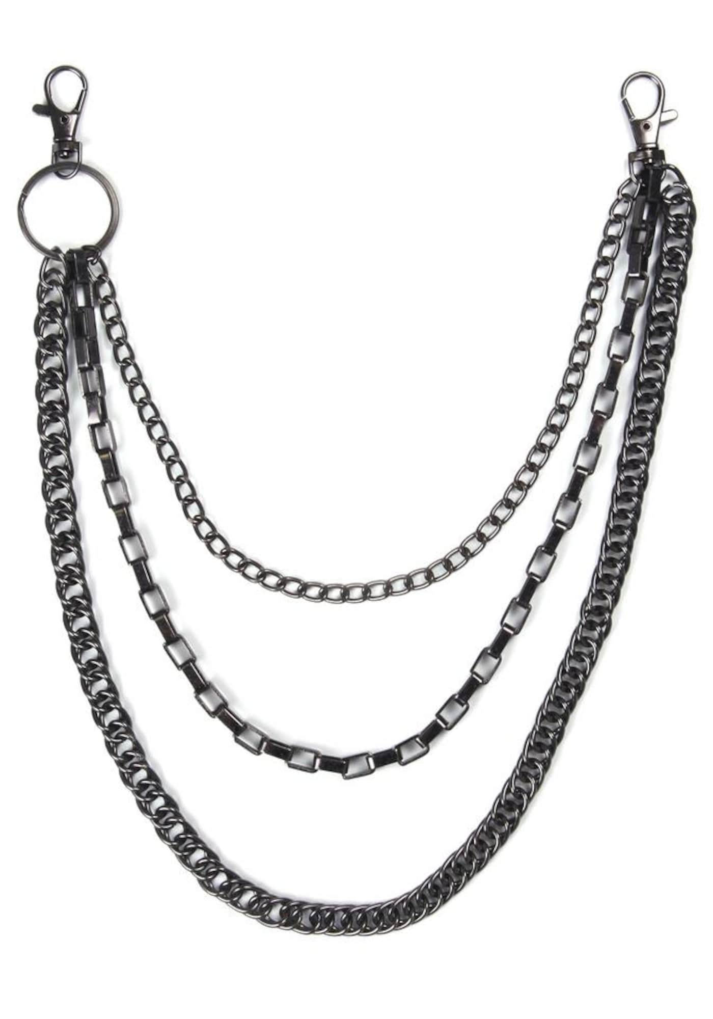 J.Jayz Hosenkette, »mehrreihige Venezianer-/Gliederkettengliederung, Kreuz«   Schmuck > Halsketten > Gliederketten   J. Jayz