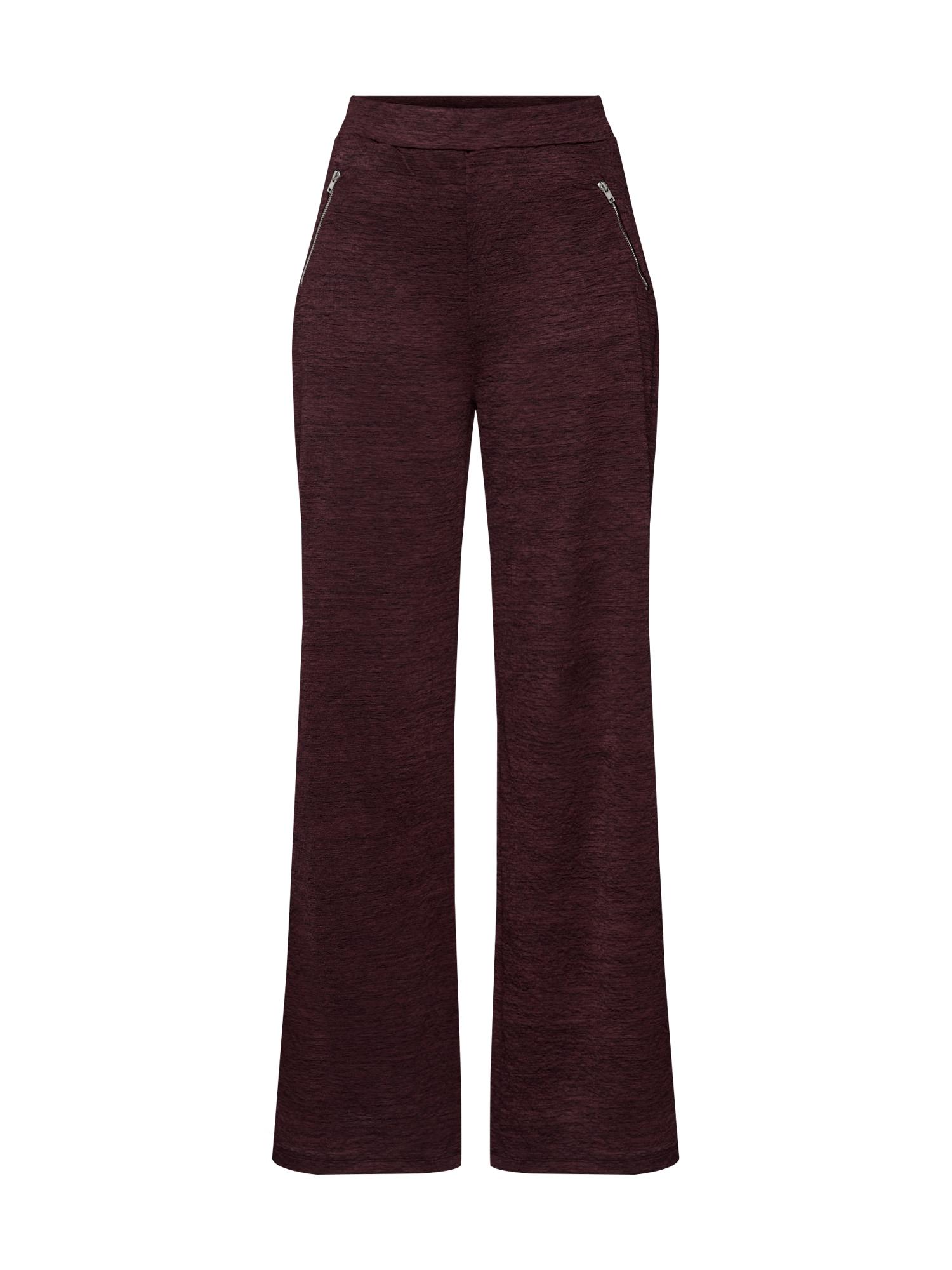 ABOUT YOU Kelnės 'Maxie Trousers' vyšninė spalva