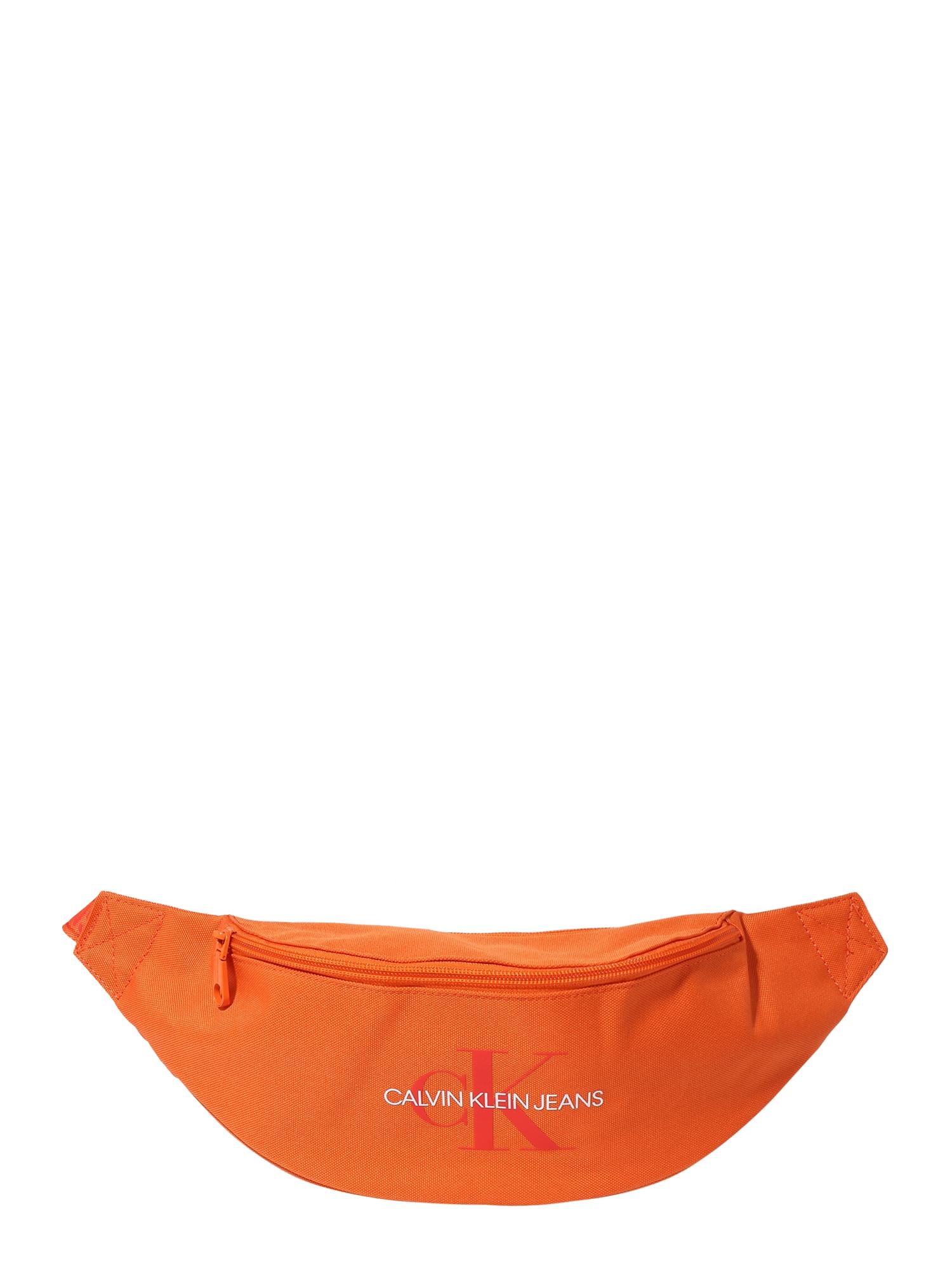 Calvin Klein Jeans Ľadvinka 'STREETPACK'  oranžová