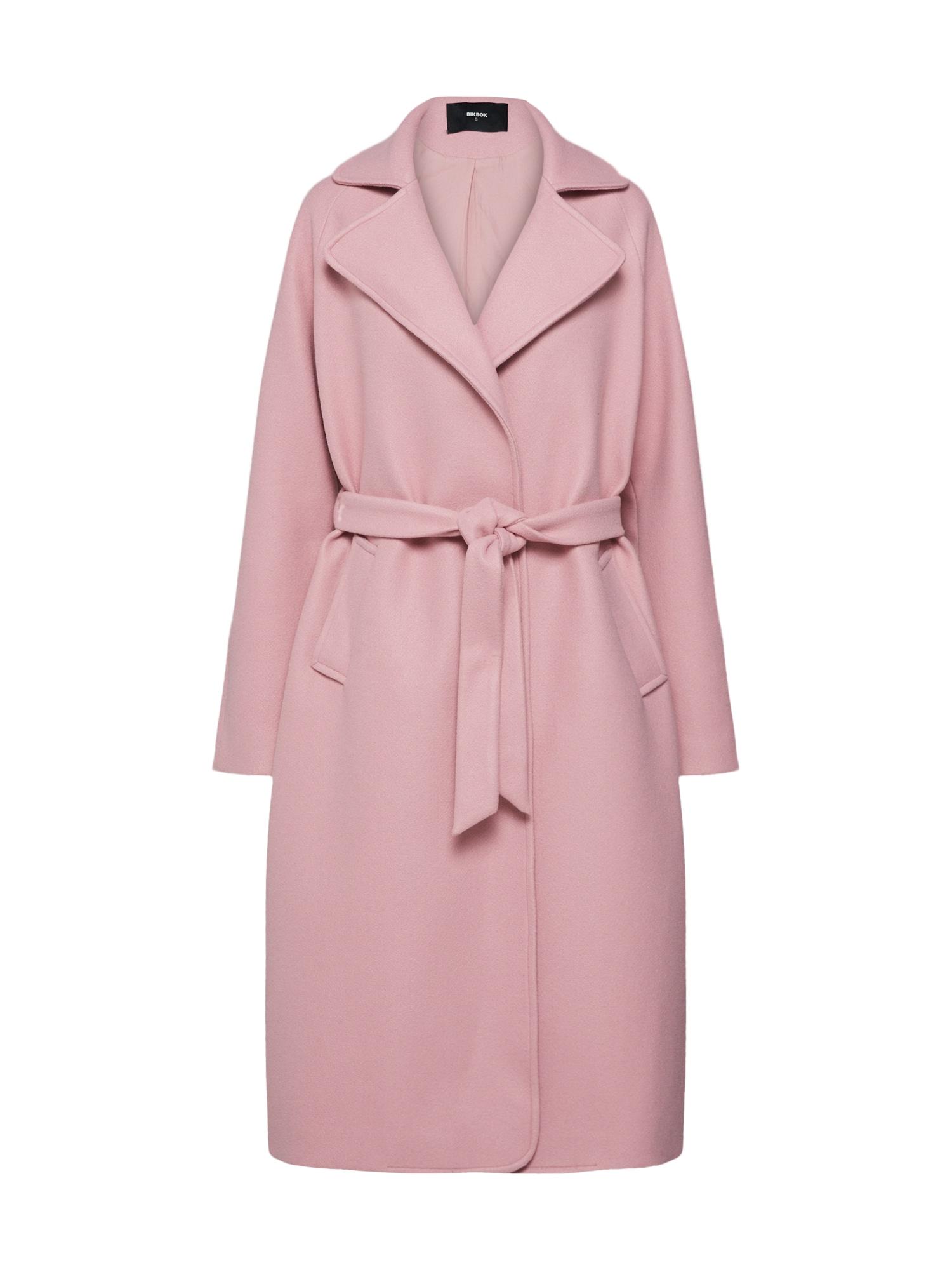 Přechodný kabát pink Bik Bok