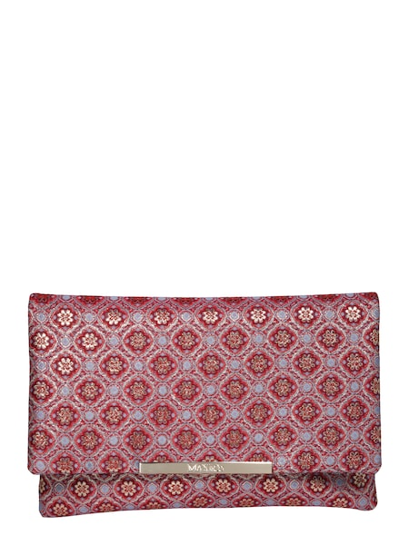 Clutches für Frauen - MAX Co. Clutch 'ACERO' hellblau rot  - Onlineshop ABOUT YOU