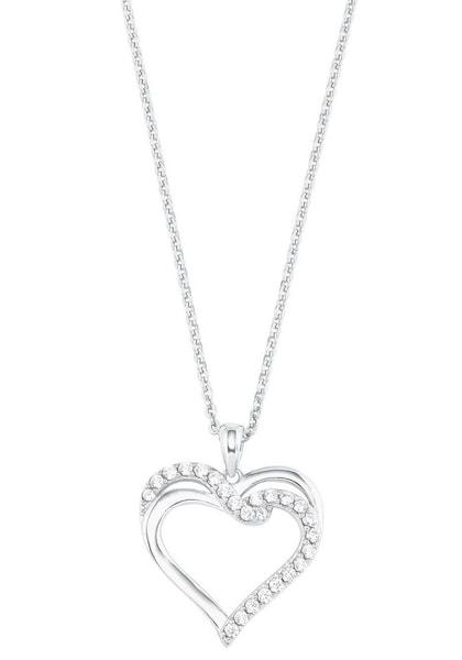Ketten für Frauen - Kette 'Herz' › AMOR › silber  - Onlineshop ABOUT YOU