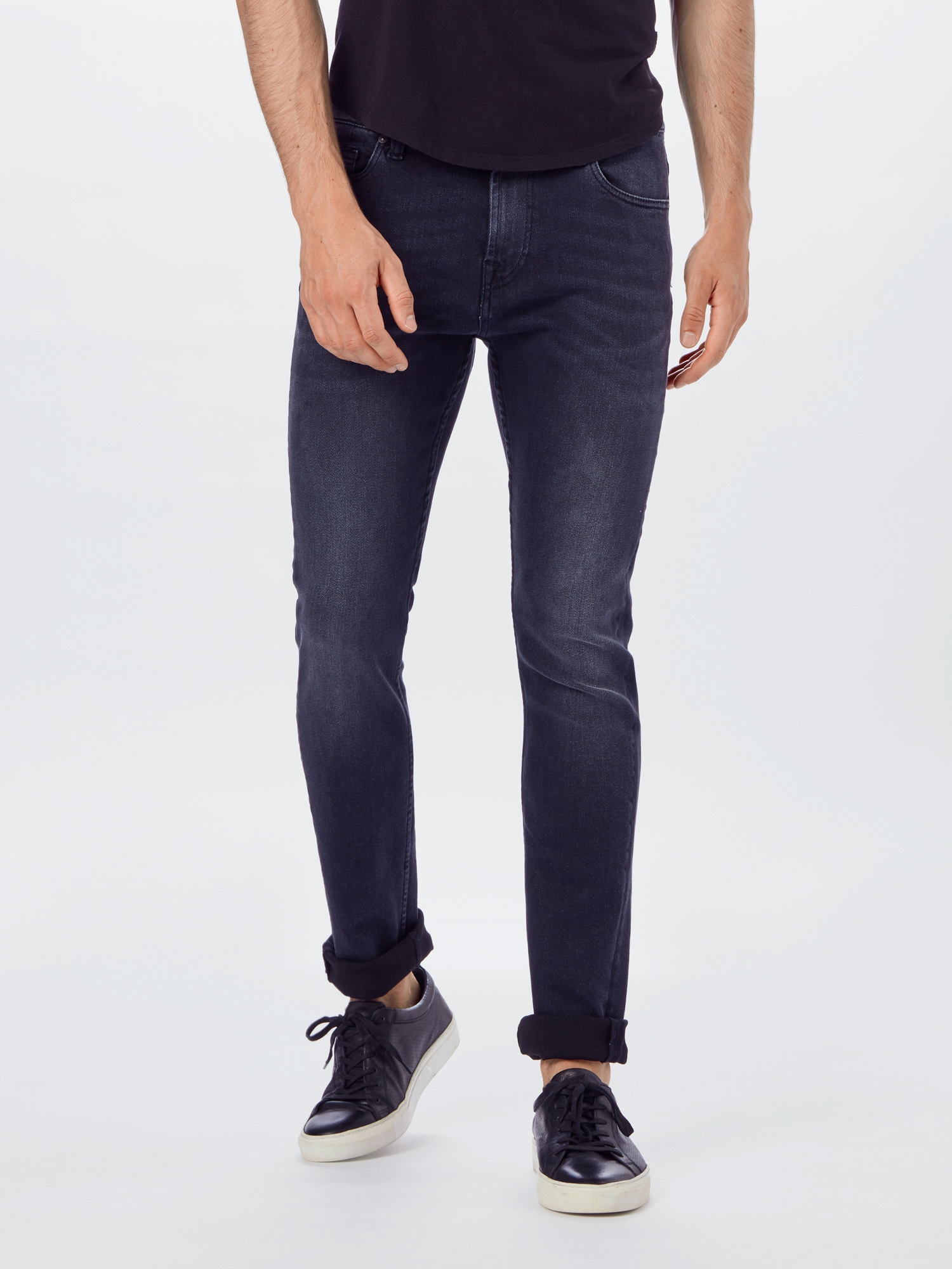 7 for all mankind Jeans 'Ronnie'  svart