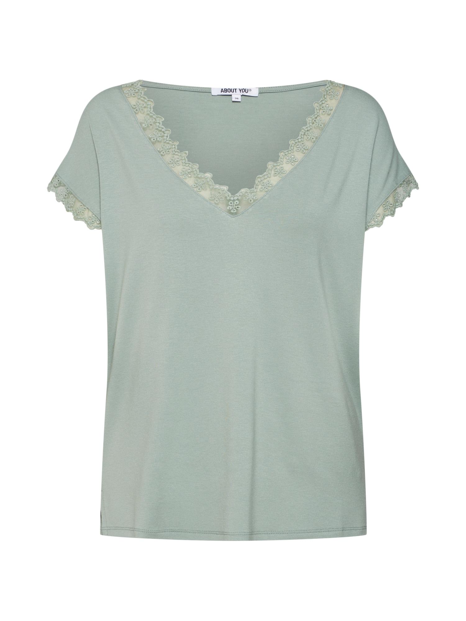 ABOUT YOU Marškinėliai 'Suzi' žalia