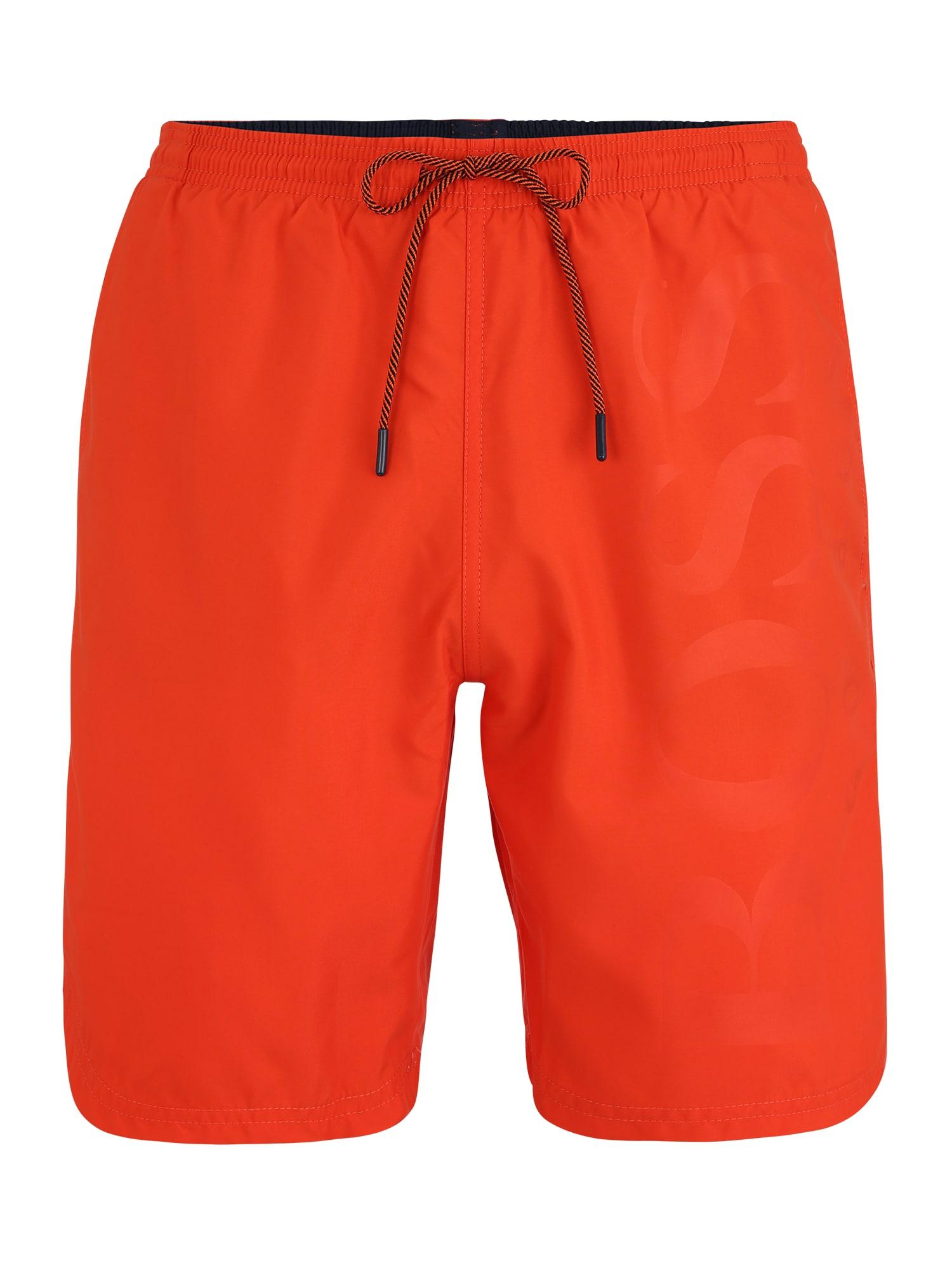 BOSS Maudymosi kelnaitės 'Orca' oranžinė