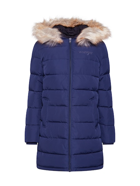 Jacken - Jacke 'LONG PUFFER' › Wrangler › navy  - Onlineshop ABOUT YOU