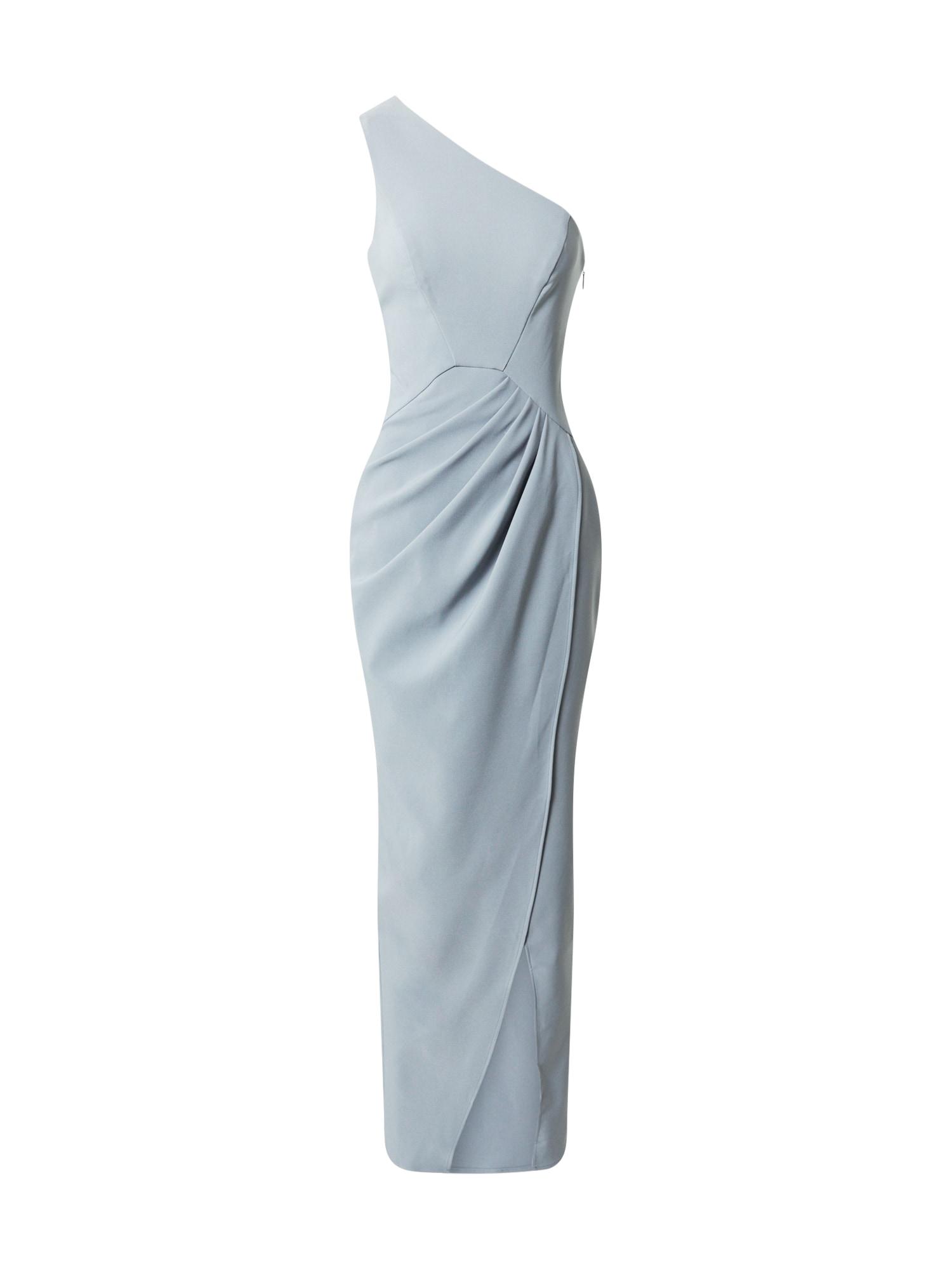 Chi Chi London Vakarinė suknelė mėlyna dūmų spalva