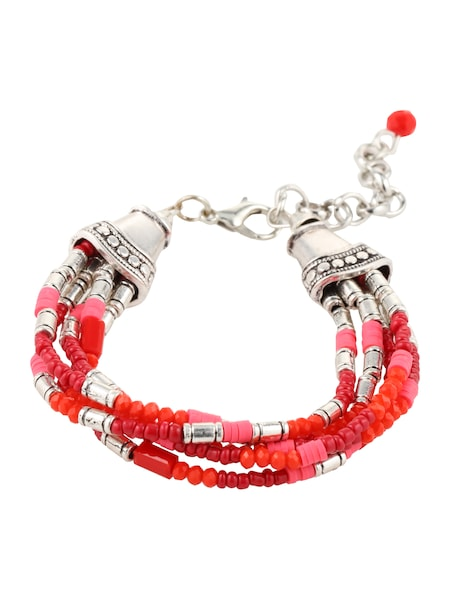 Armbaender für Frauen - ABOUT YOU Armband 'LISANNA' rot  - Onlineshop ABOUT YOU