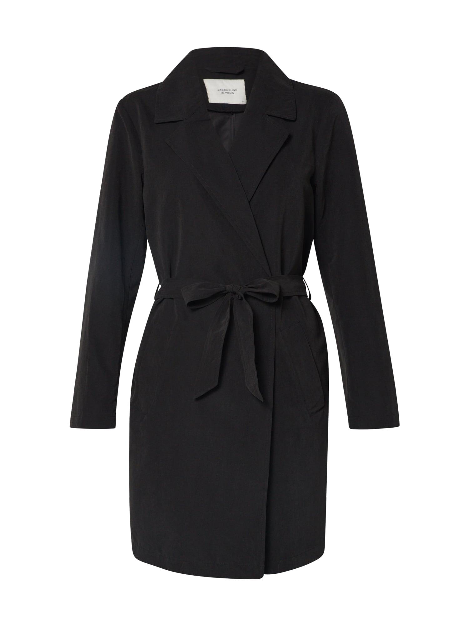 JACQUELINE de YONG Rudeninis-žieminis paltas 'PASCHAL' juoda