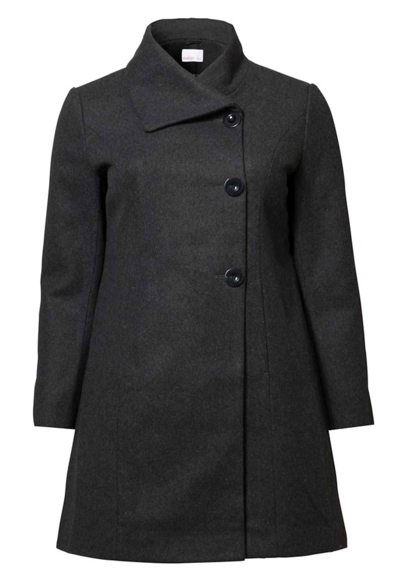 SHEEGO Demisezoninis paltas tamsiai pilka