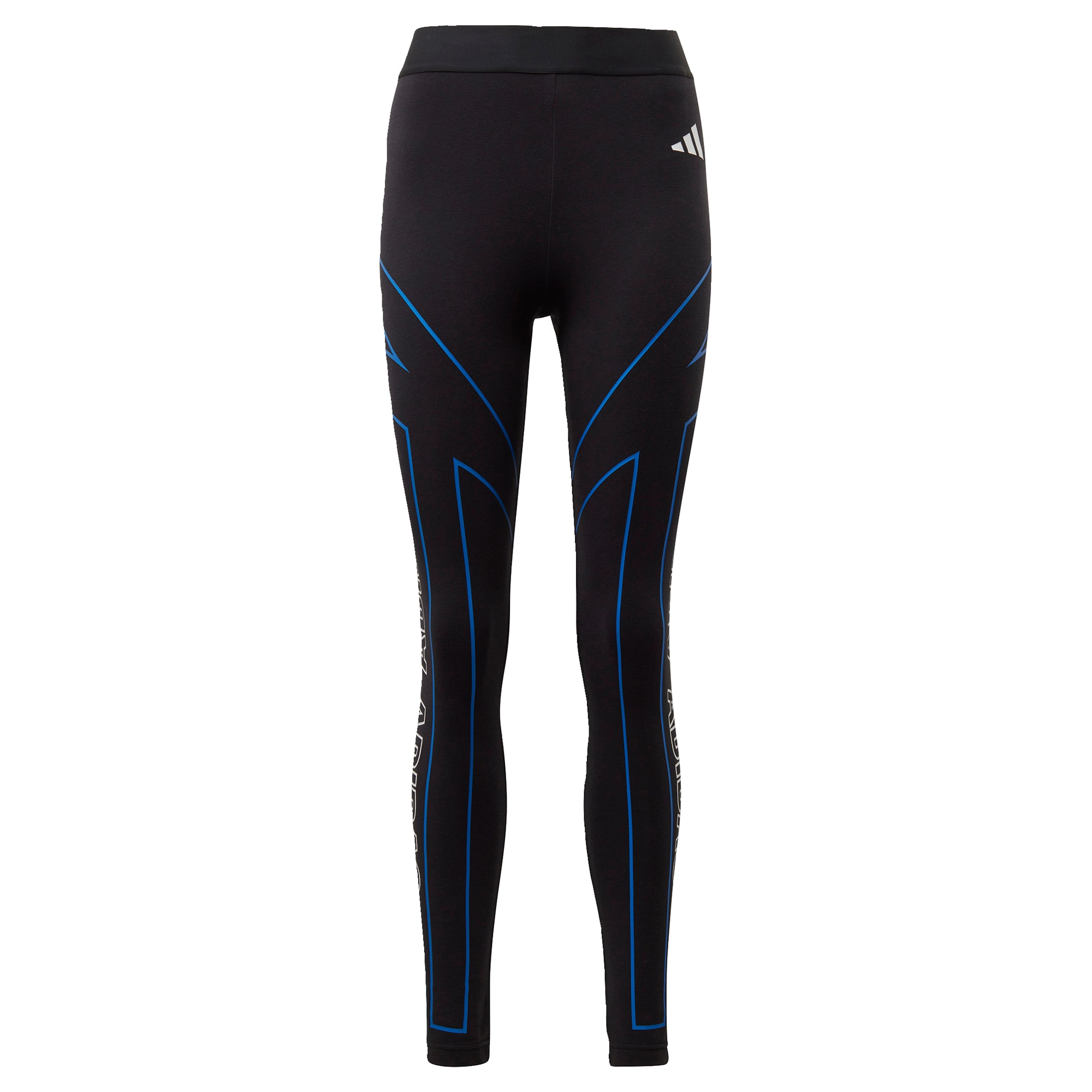 ADIDAS PERFORMANCE Sportinės kelnės 'W Graphic Tight' juoda