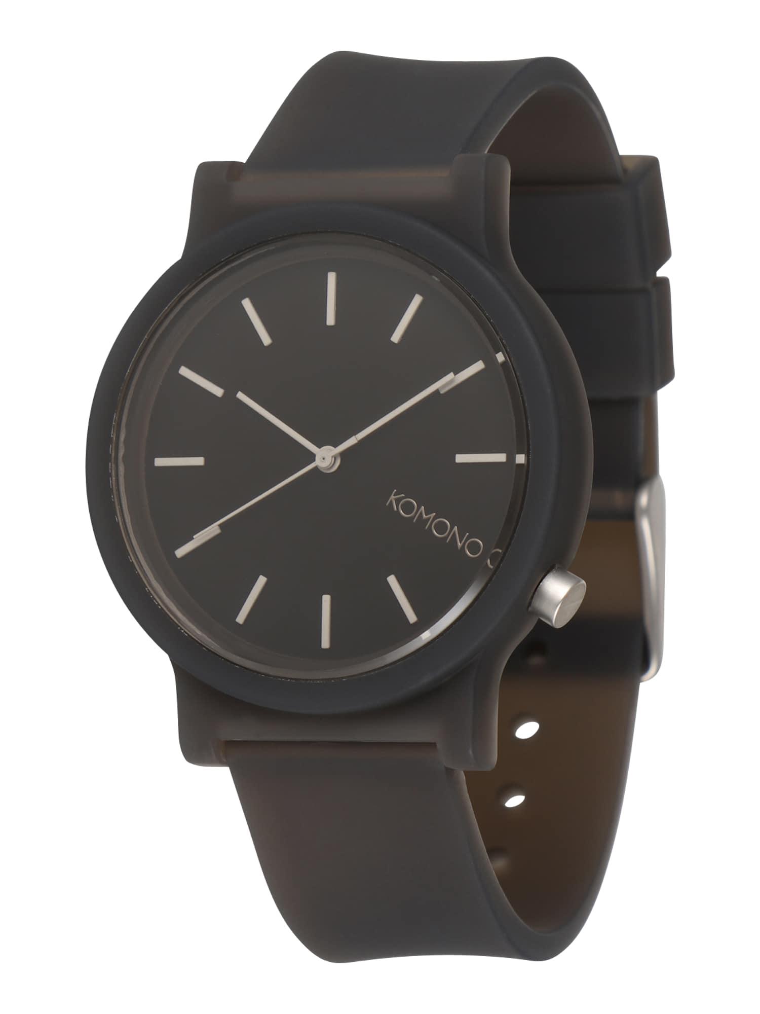 Analogové hodinky MONO černá Komono