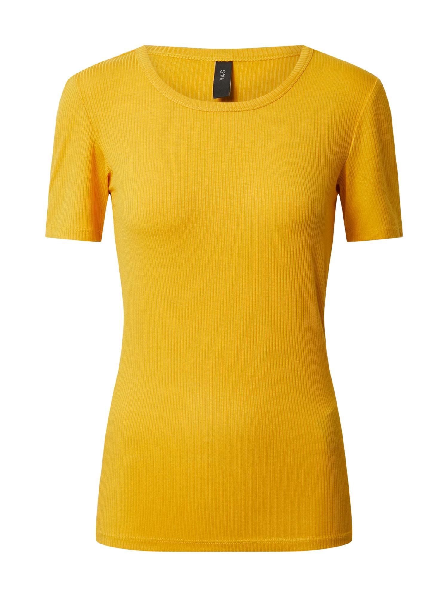 Y.A.S Tričko  zlatá žltá