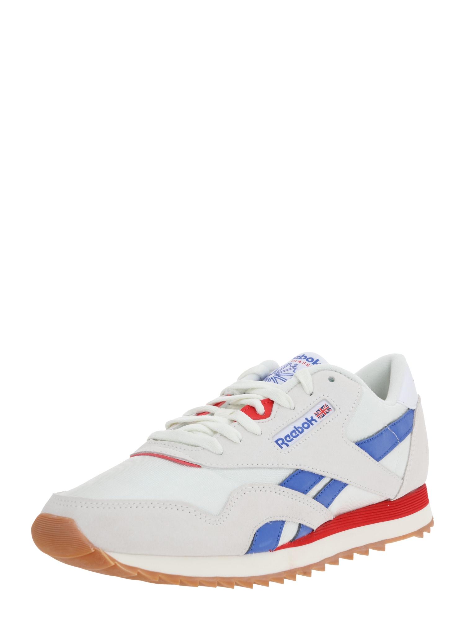 Reebok Classic Nízke tenisky  červené / sivá / biela