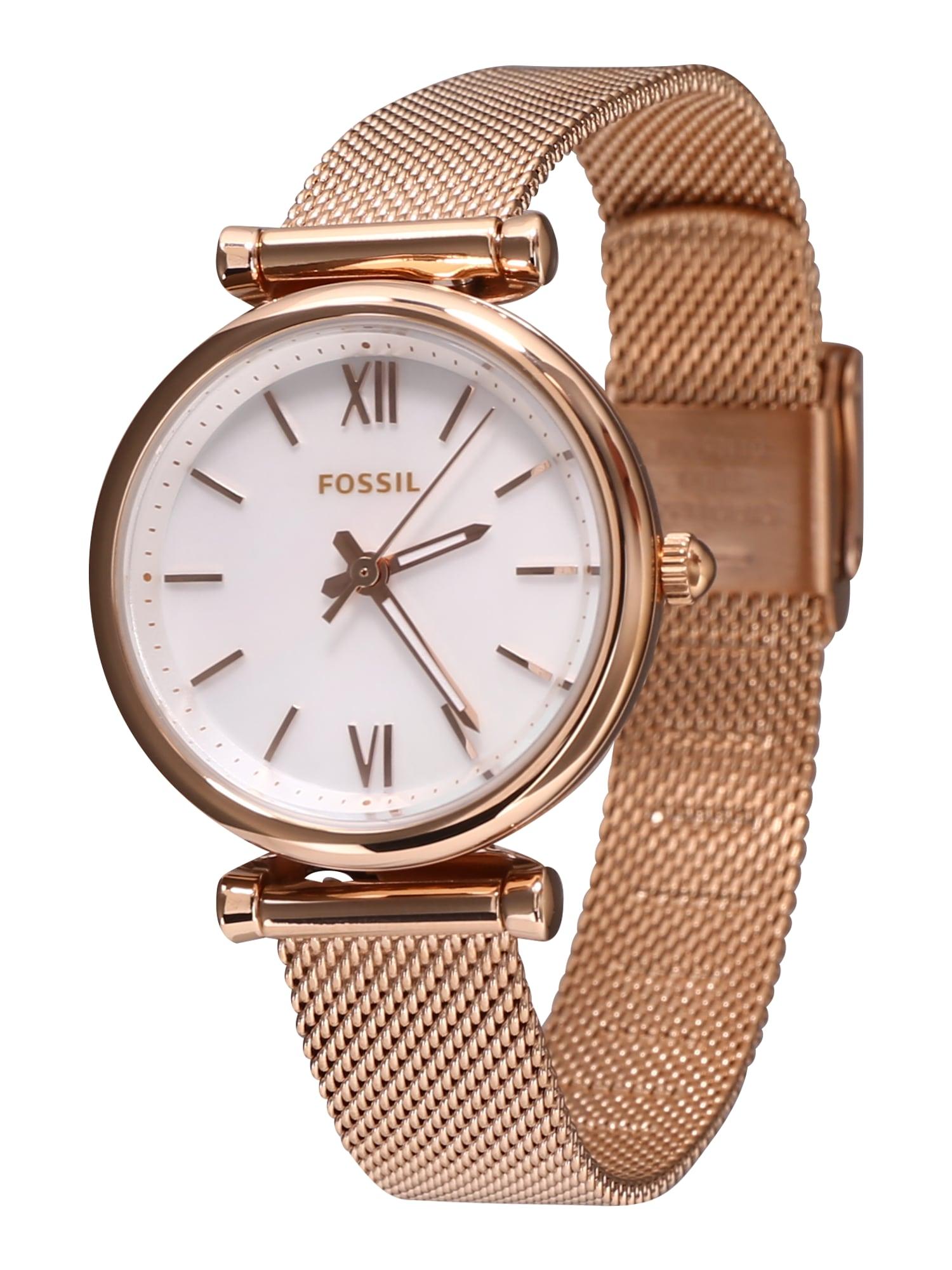 FOSSIL Analoginis (įprasto dizaino) laikrodis rožinio aukso spalva
